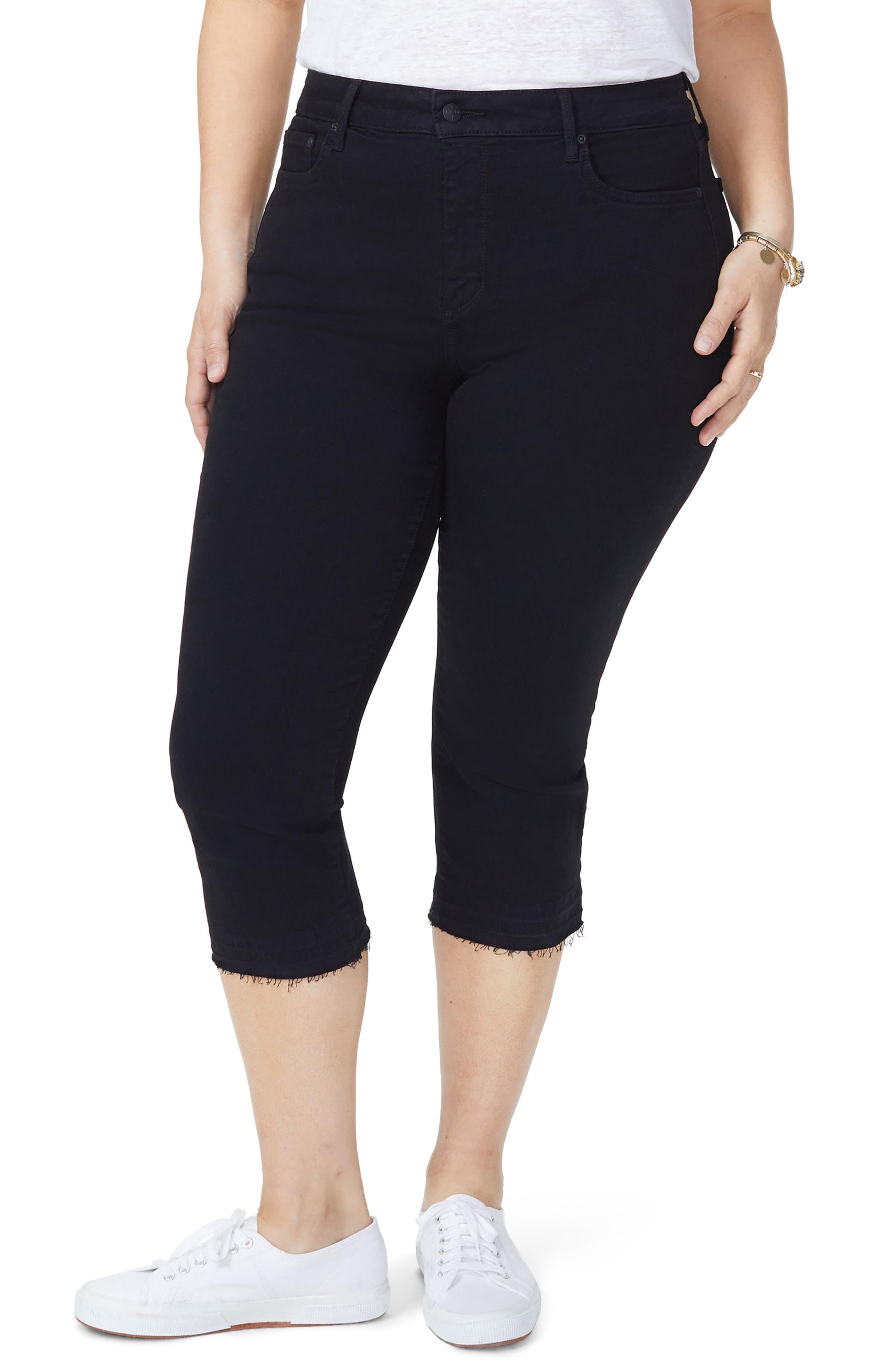 Release Hem Skinny Jeans,                         Main,                         color, BLACK
