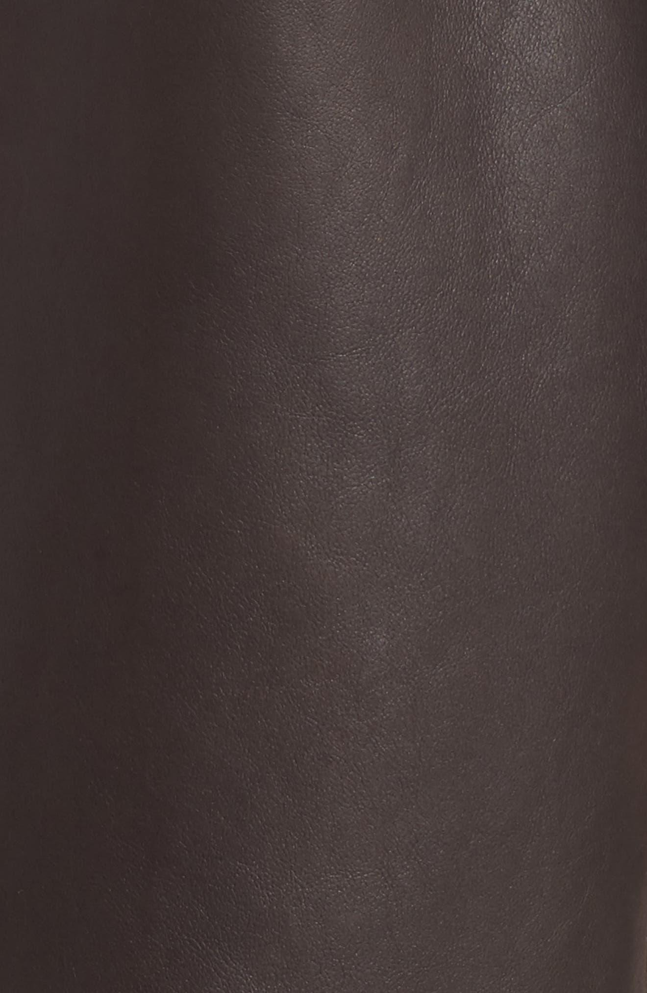 Reversible Genuine Shearling Coat,                             Alternate thumbnail 6, color,                             203