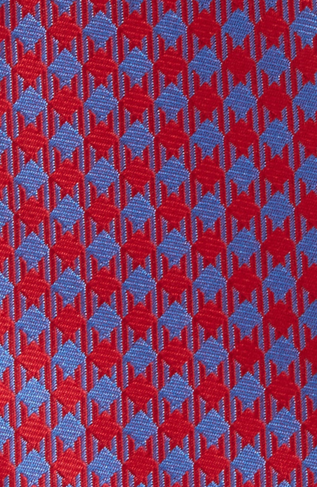 Commix Check Silk Bow Tie,                             Alternate thumbnail 3, color,                             600