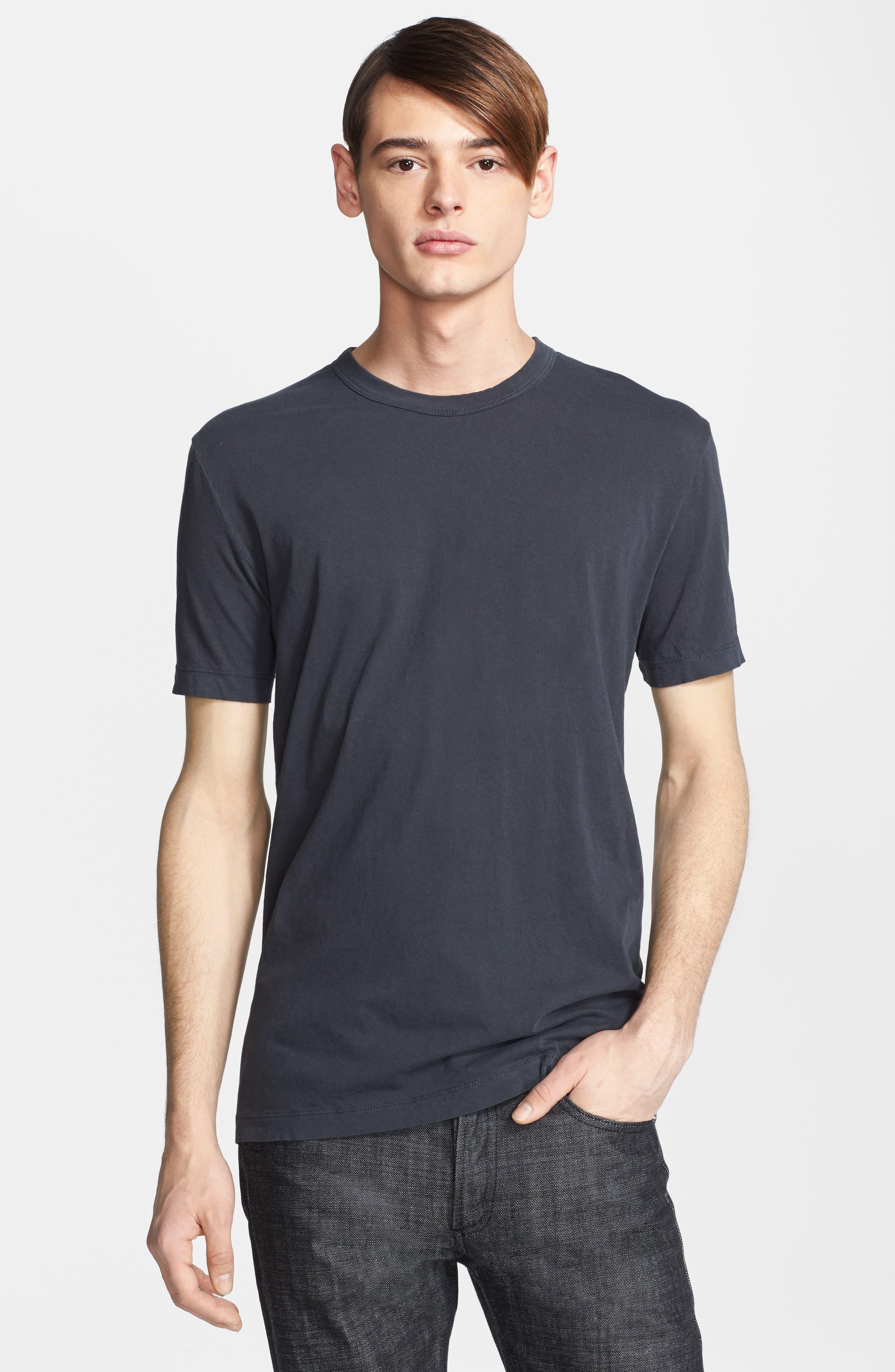 Crewneck Jersey T-Shirt,                             Alternate thumbnail 515, color,