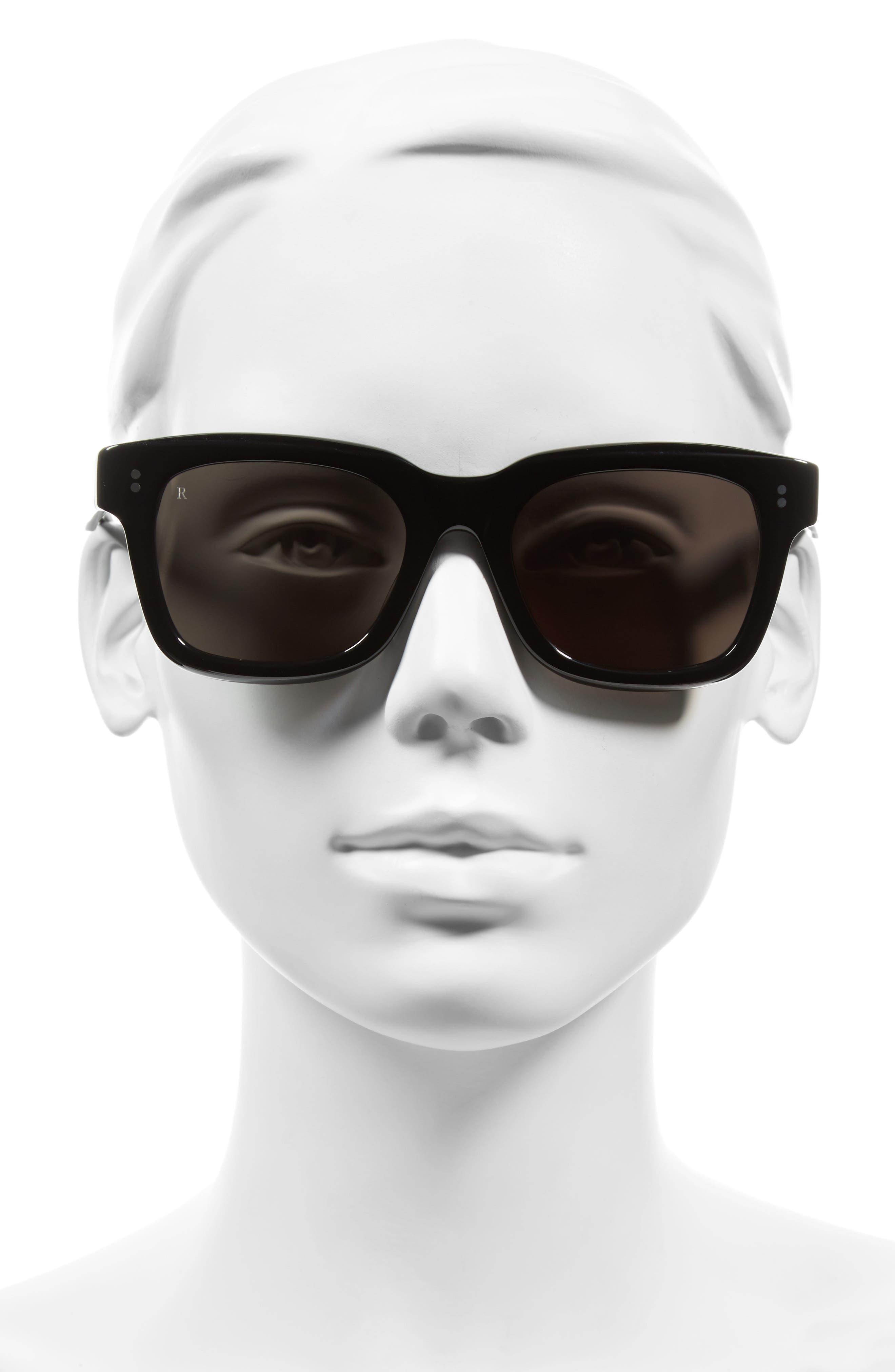 Gilman 52mm Sunglasses,                             Alternate thumbnail 2, color,                             001