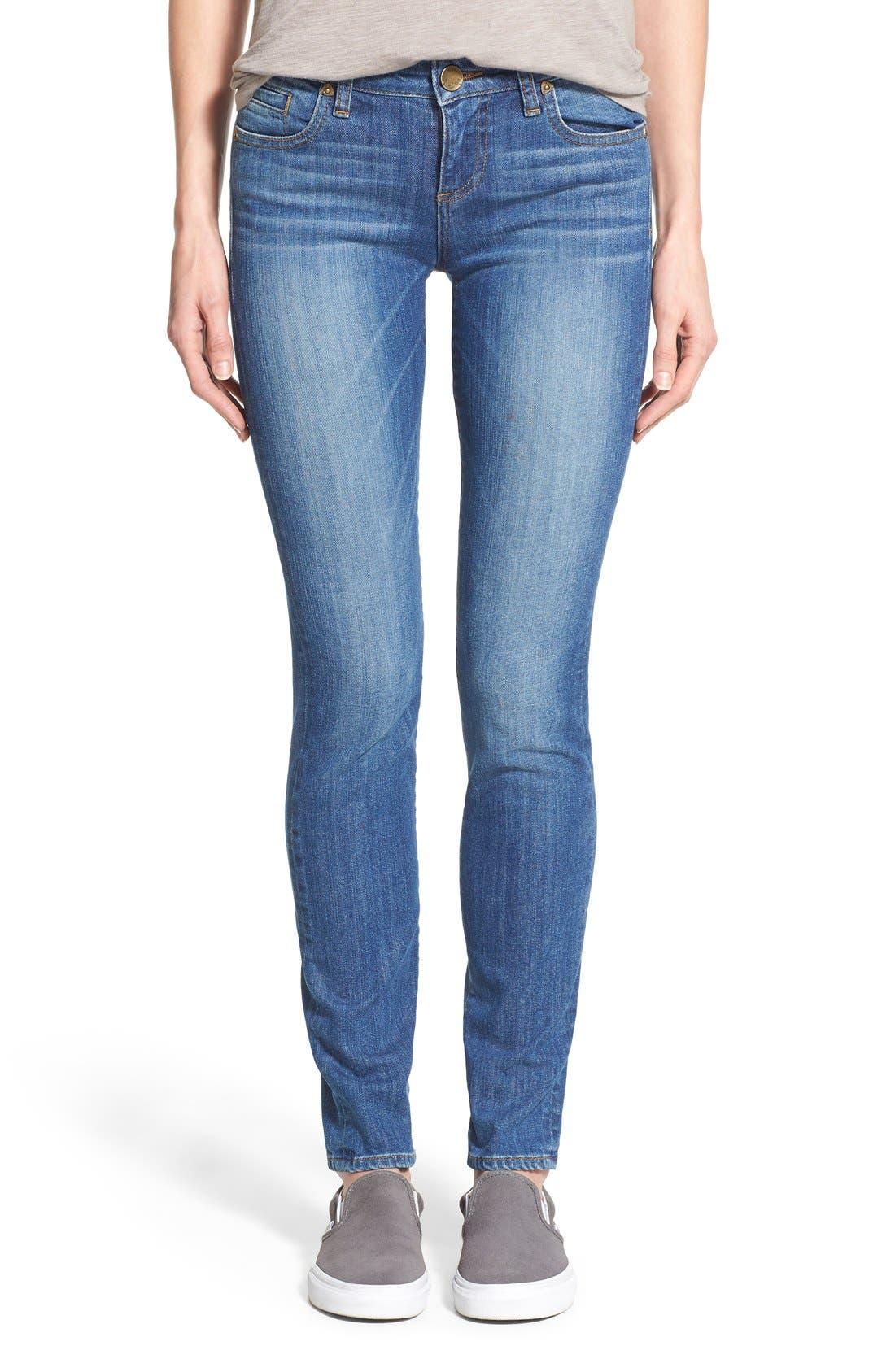 'Diana' Stretch Skinny Jeans,                         Main,                         color, 402