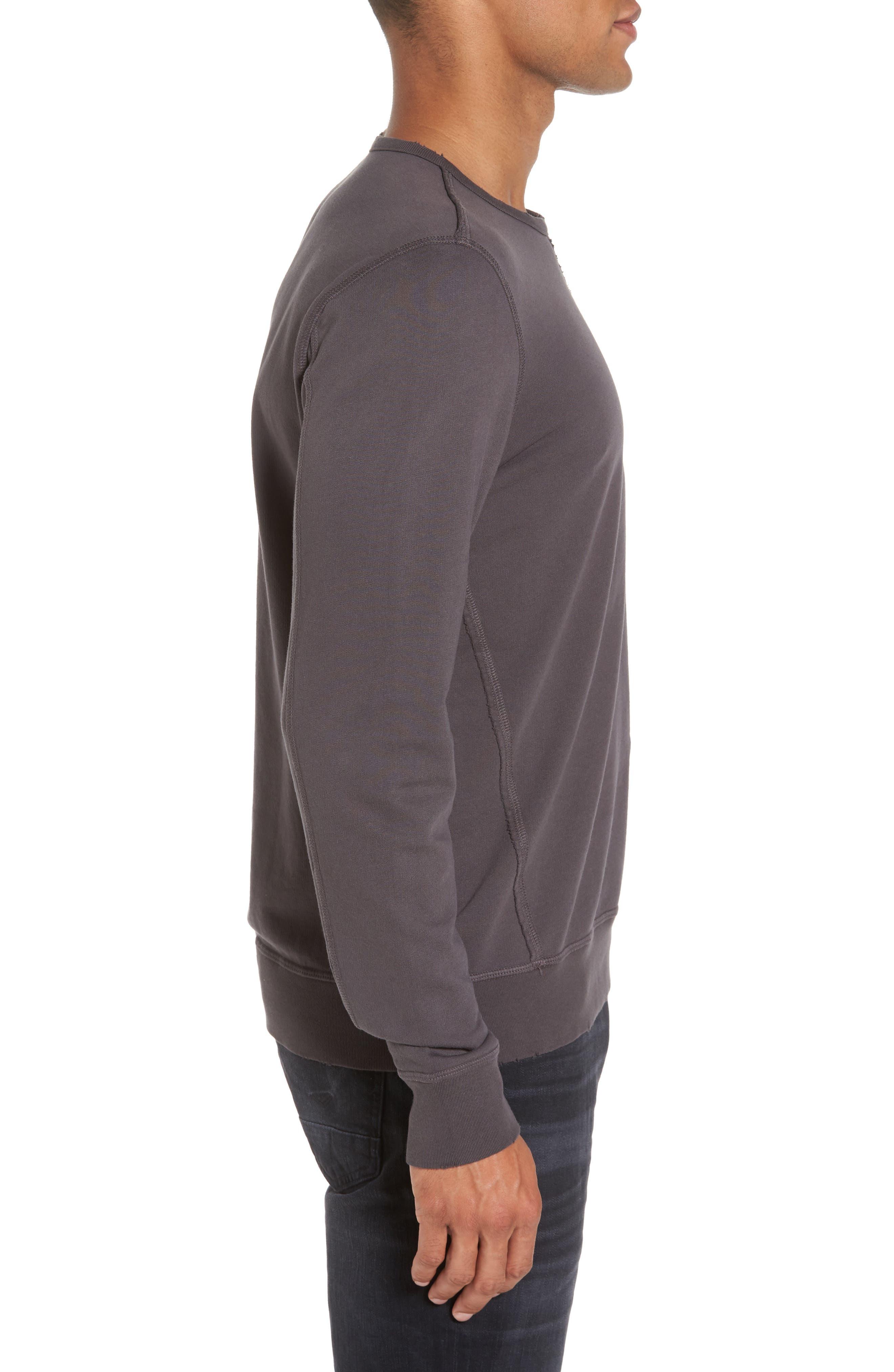 Tyson Slim Fit Sweatshirt,                             Alternate thumbnail 3, color,                             022