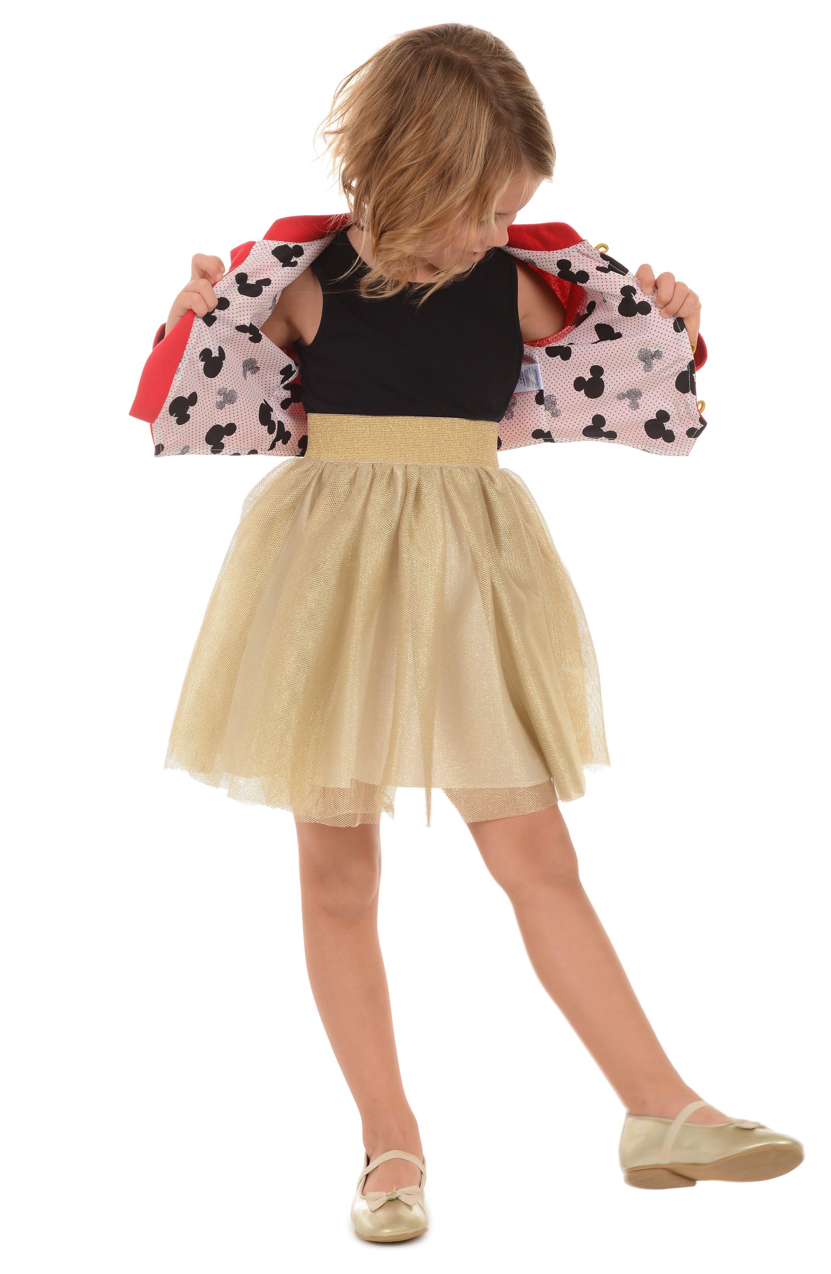 PIPPA & JULIE,                             x Disney<sup>®</sup> Mickey Mouse<sup>®</sup> Majorette Jacket & Tank Dress Set,                             Alternate thumbnail 9, color,                             643