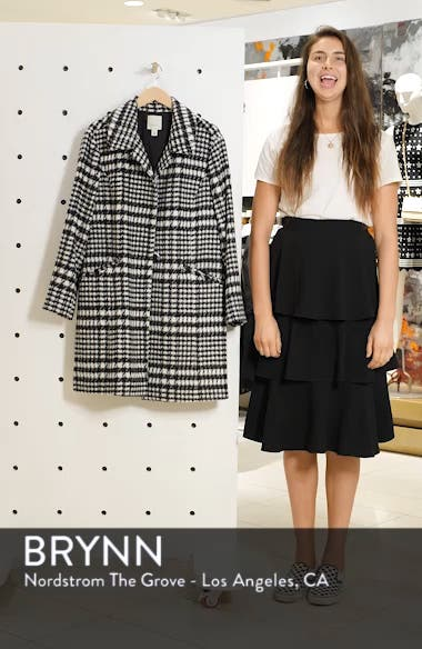Brushed Houndstooth Coat, sales video thumbnail
