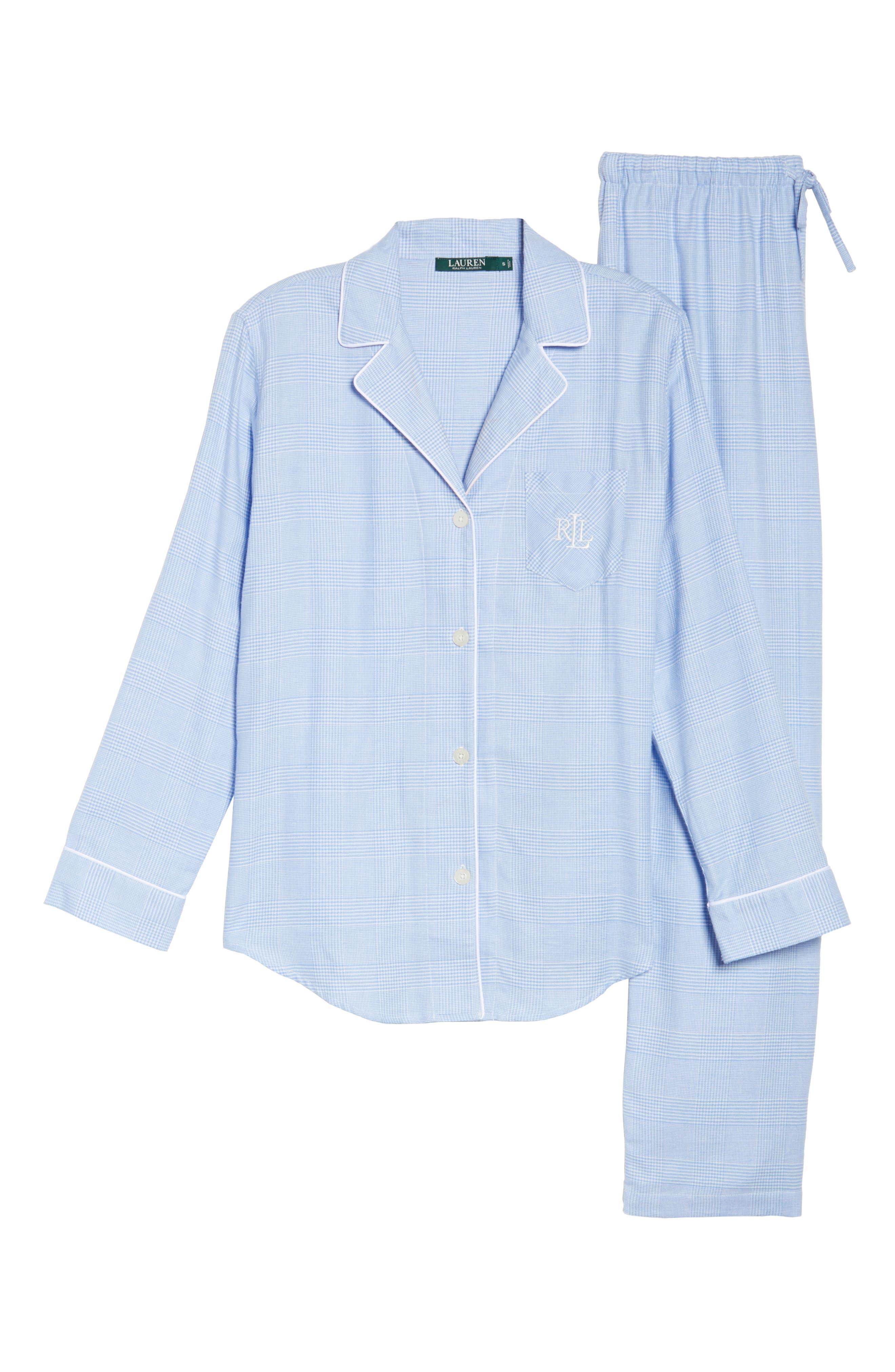 Long Pajamas,                             Alternate thumbnail 6, color,                             410