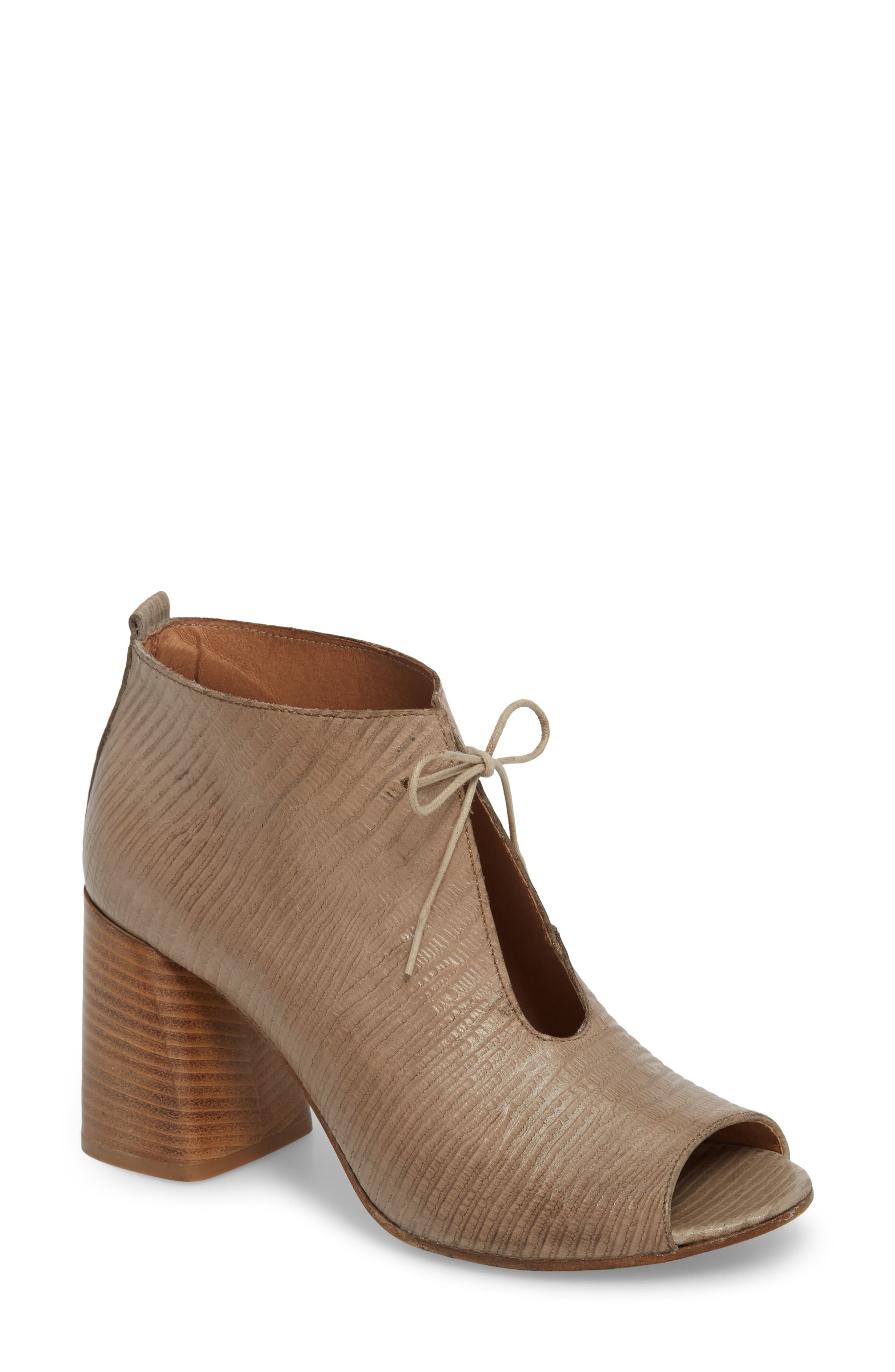 Lacey1 Bootie,                             Main thumbnail 1, color,                             TAUPE LEATHER