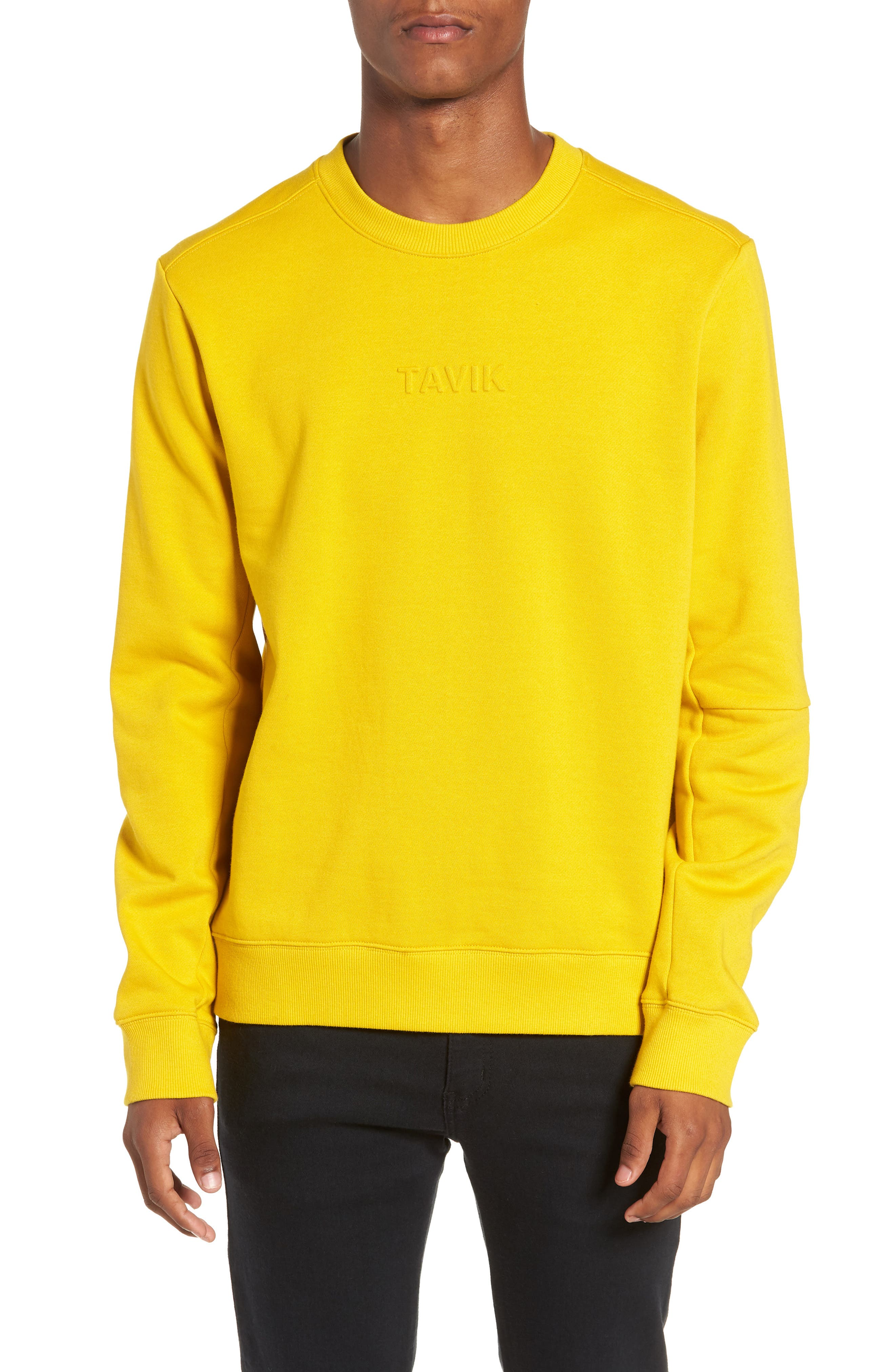Loma Sweatshirt,                         Main,                         color, MUSTARD YELLOW