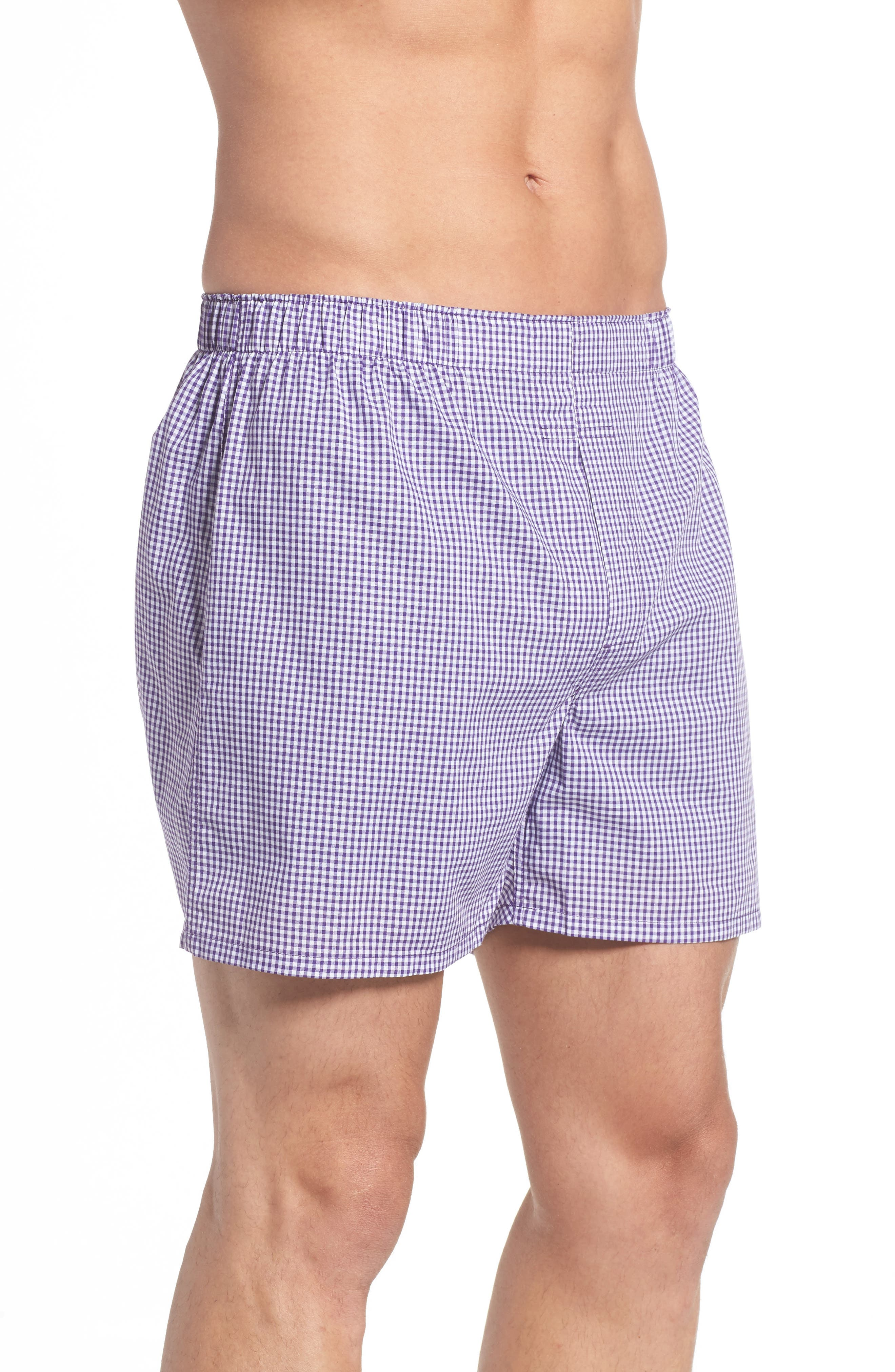 Assorted 3-Pack Woven Cotton Boxers,                             Alternate thumbnail 21, color,
