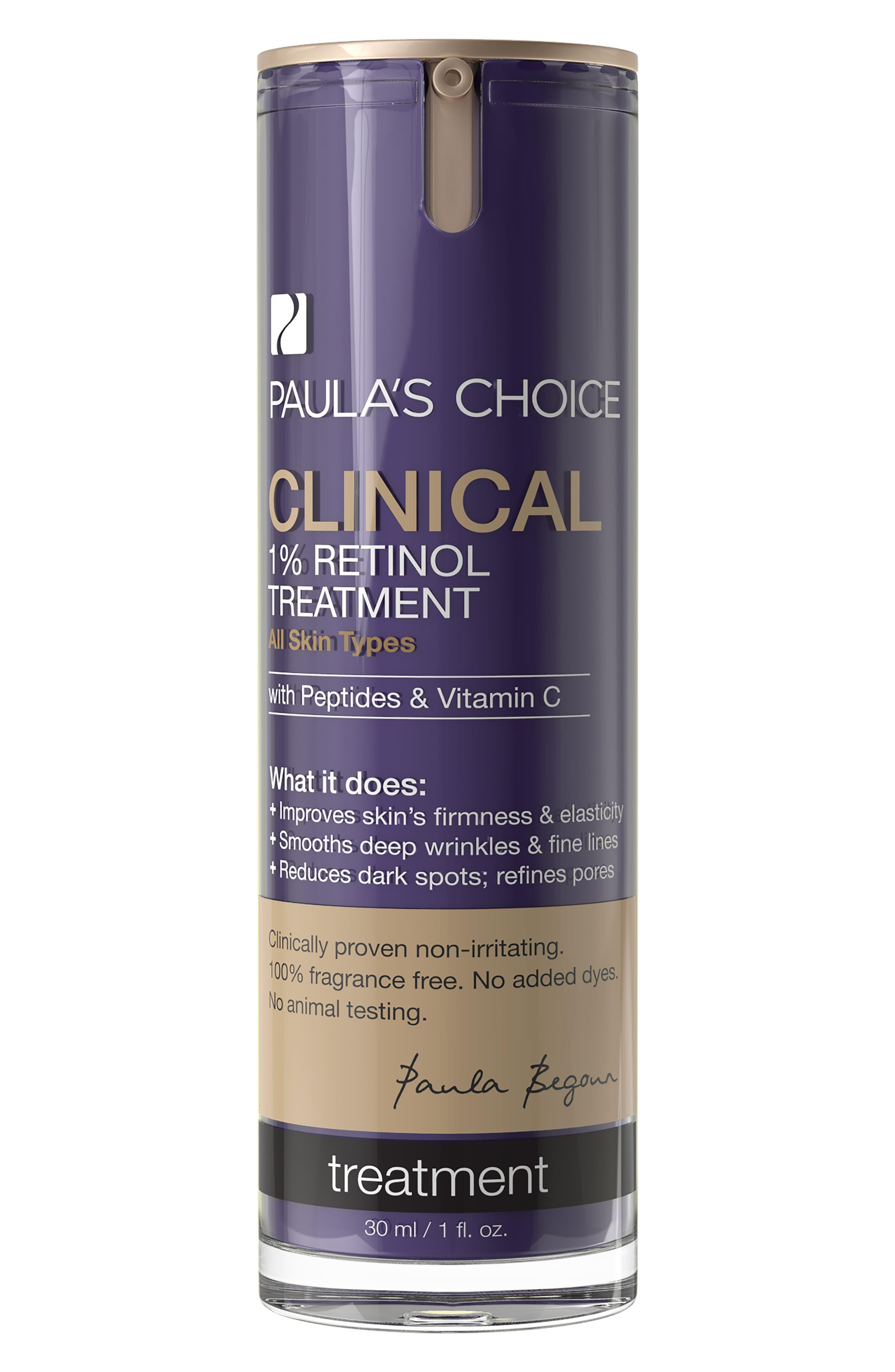 Clinical 1% Retinol Treatment,                         Main,                         color, NO COLOR