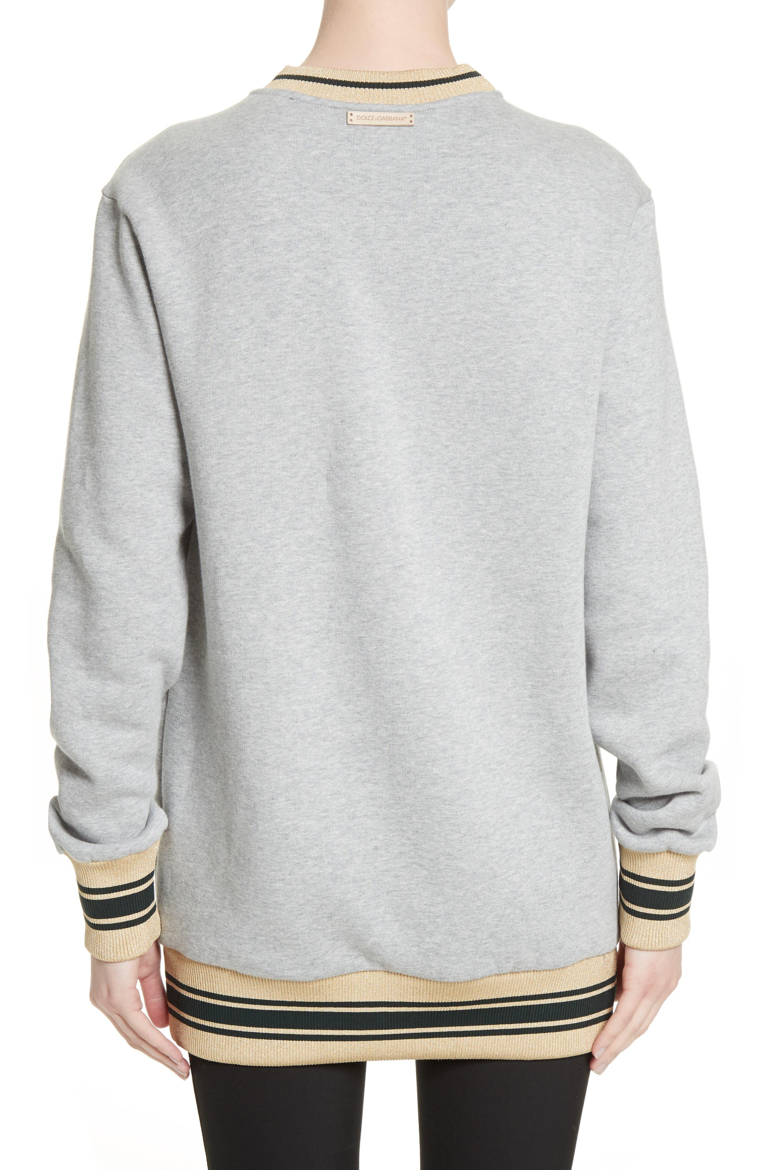 Hydrangea Patch Sweatshirt,                             Alternate thumbnail 2, color,                             050