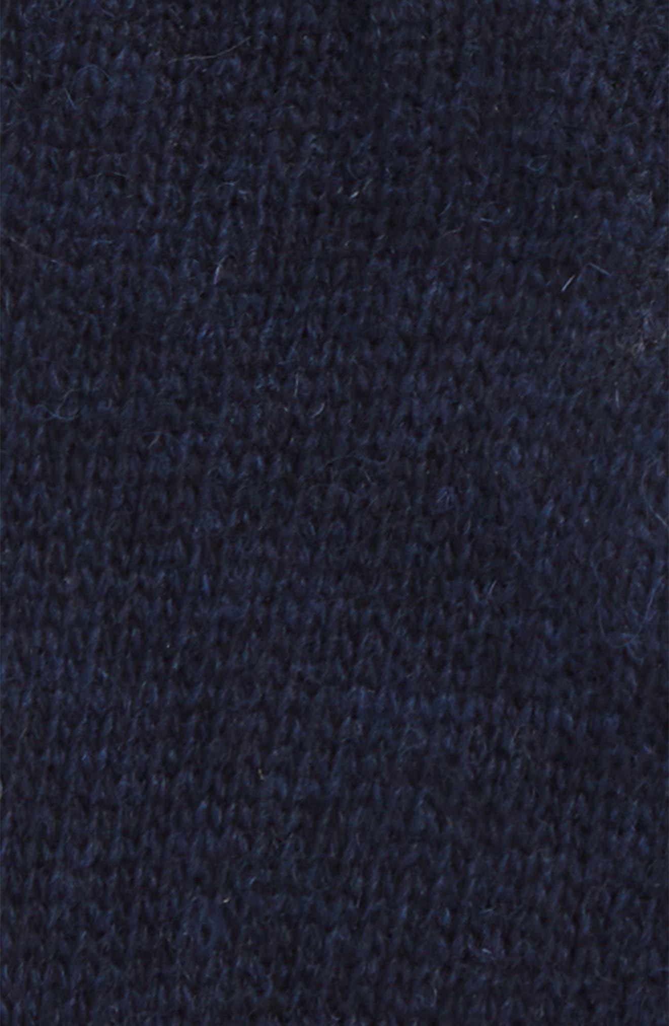 Carlton Stretch Wool Gloves,                             Alternate thumbnail 2, color,                             NAVY