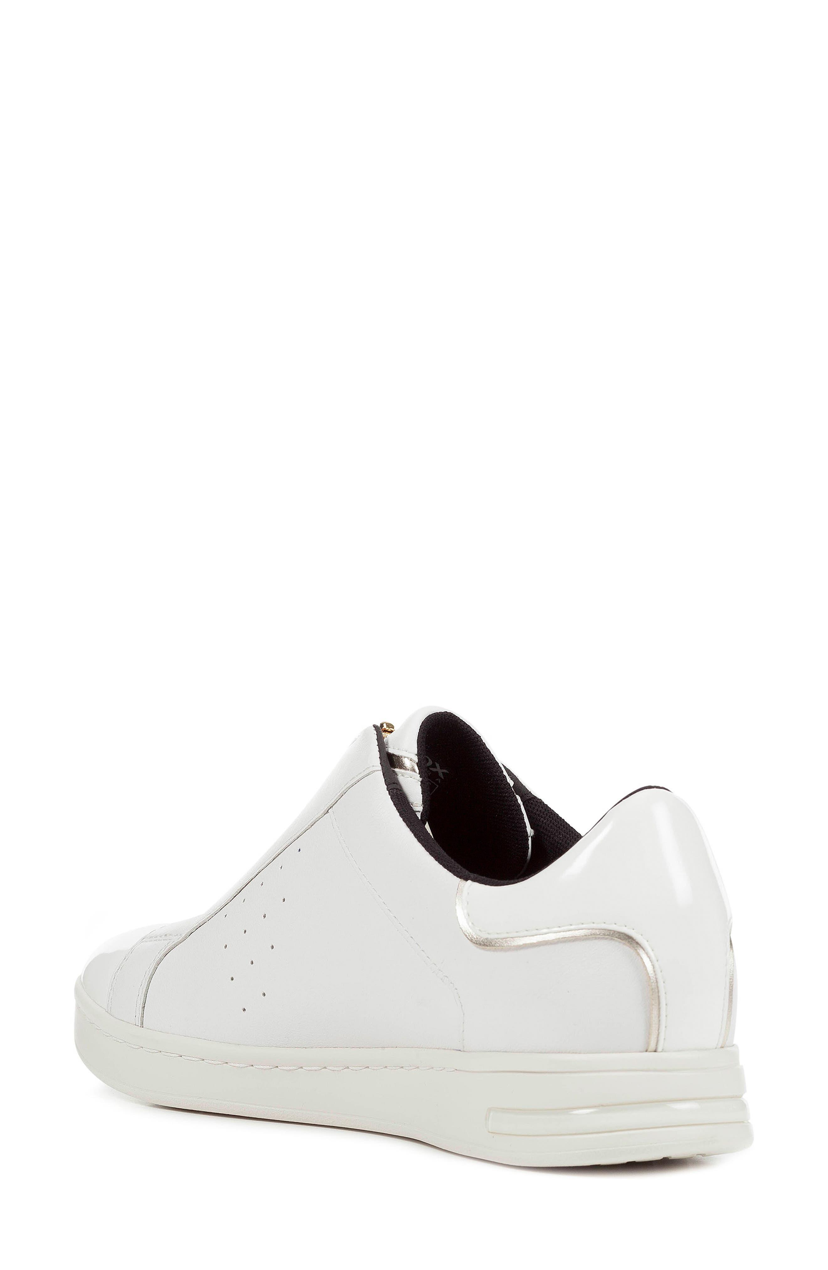 Jaysen Sneaker,                             Alternate thumbnail 7, color,                             WHITE LEATHER