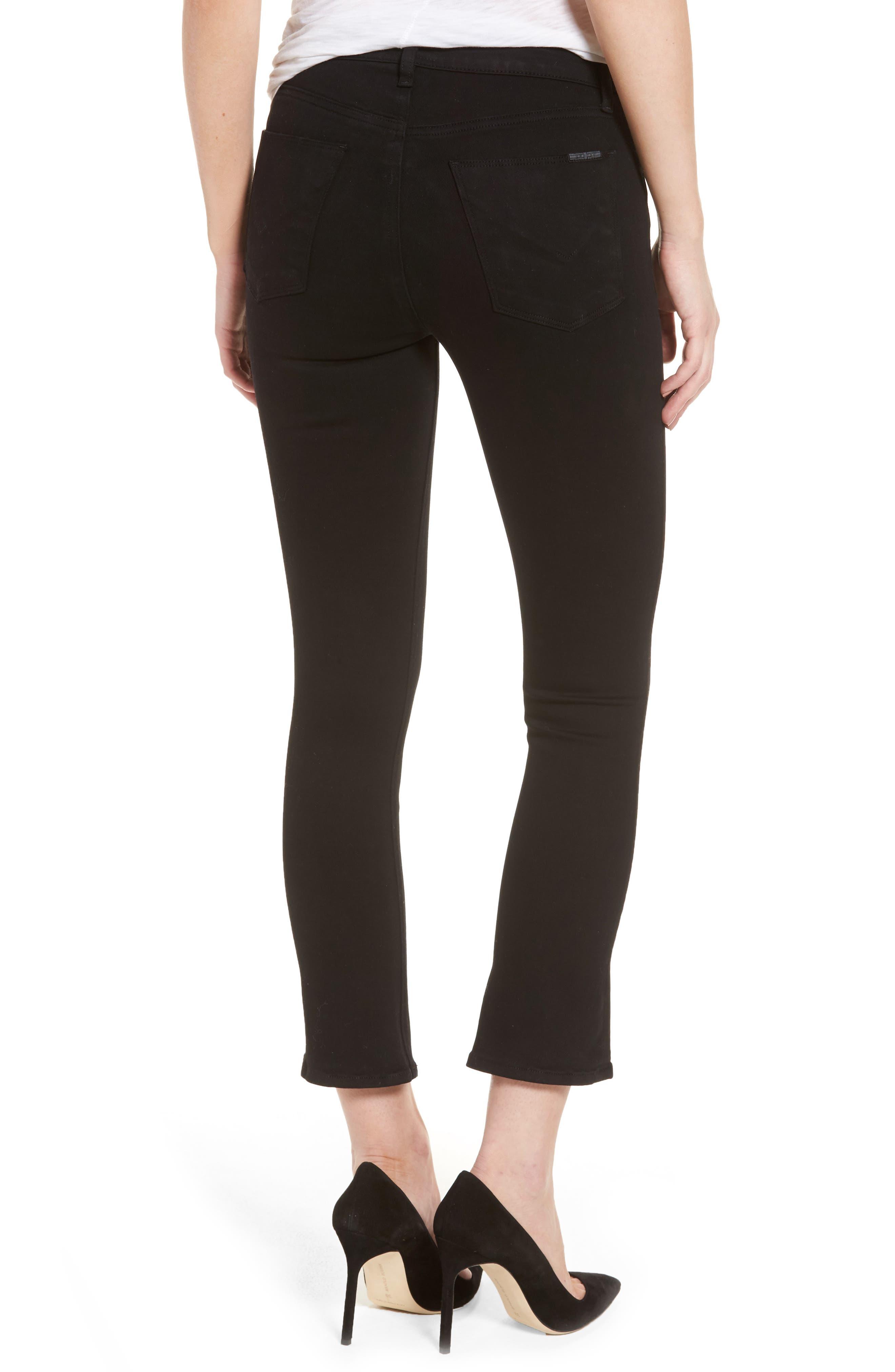 Harper High Rise Crop Jeans,                             Alternate thumbnail 2, color,                             001