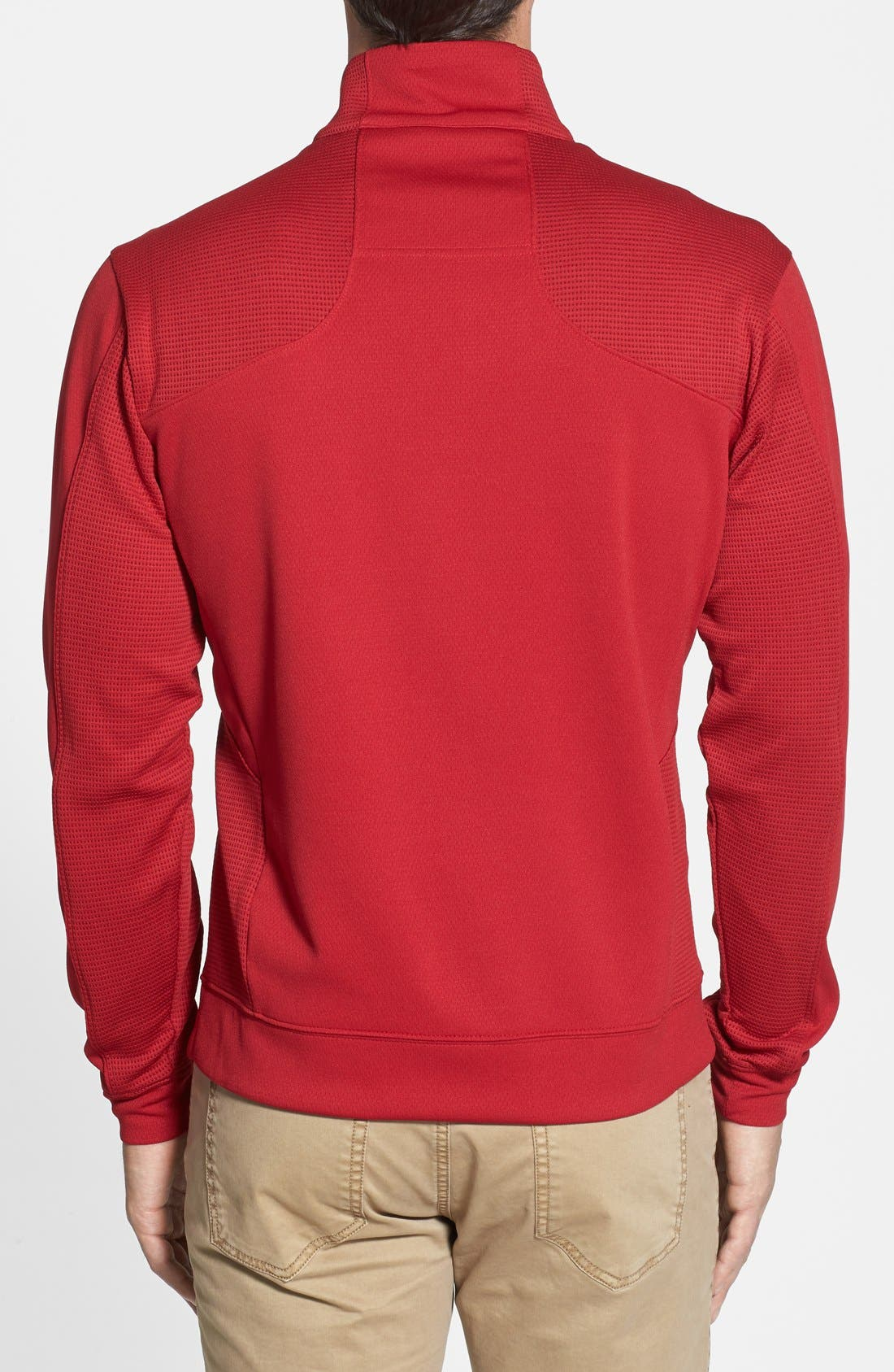 DryTec Half Zip Pullover,                             Alternate thumbnail 3, color,                             613
