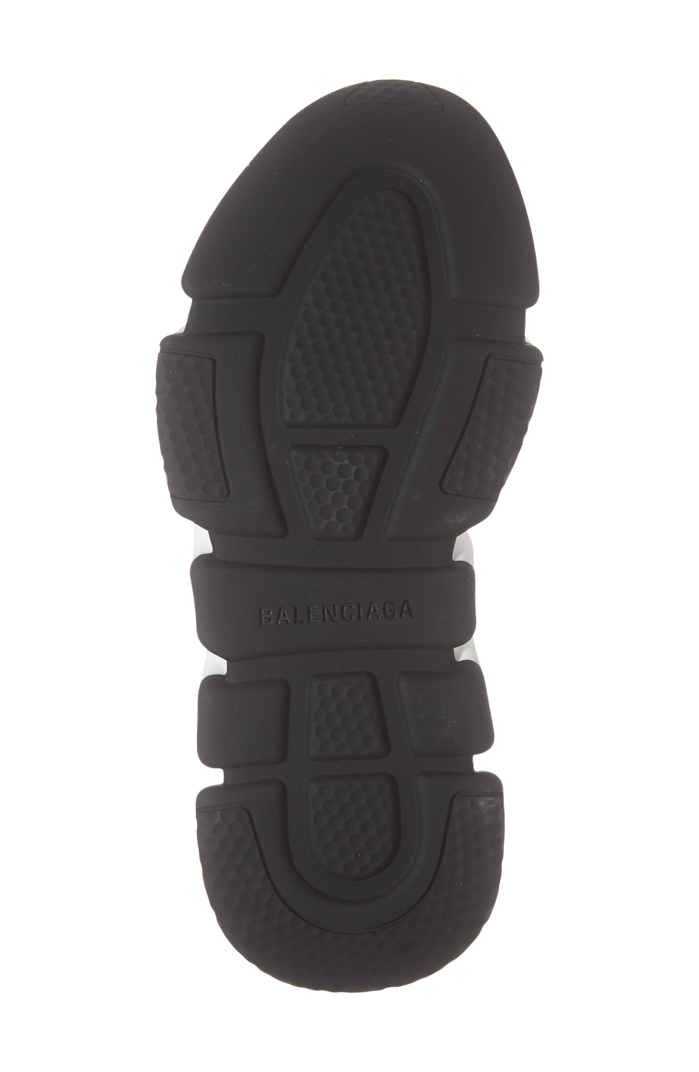 Speed Knit Sneaker,                             Alternate thumbnail 6, color,                             BLACK