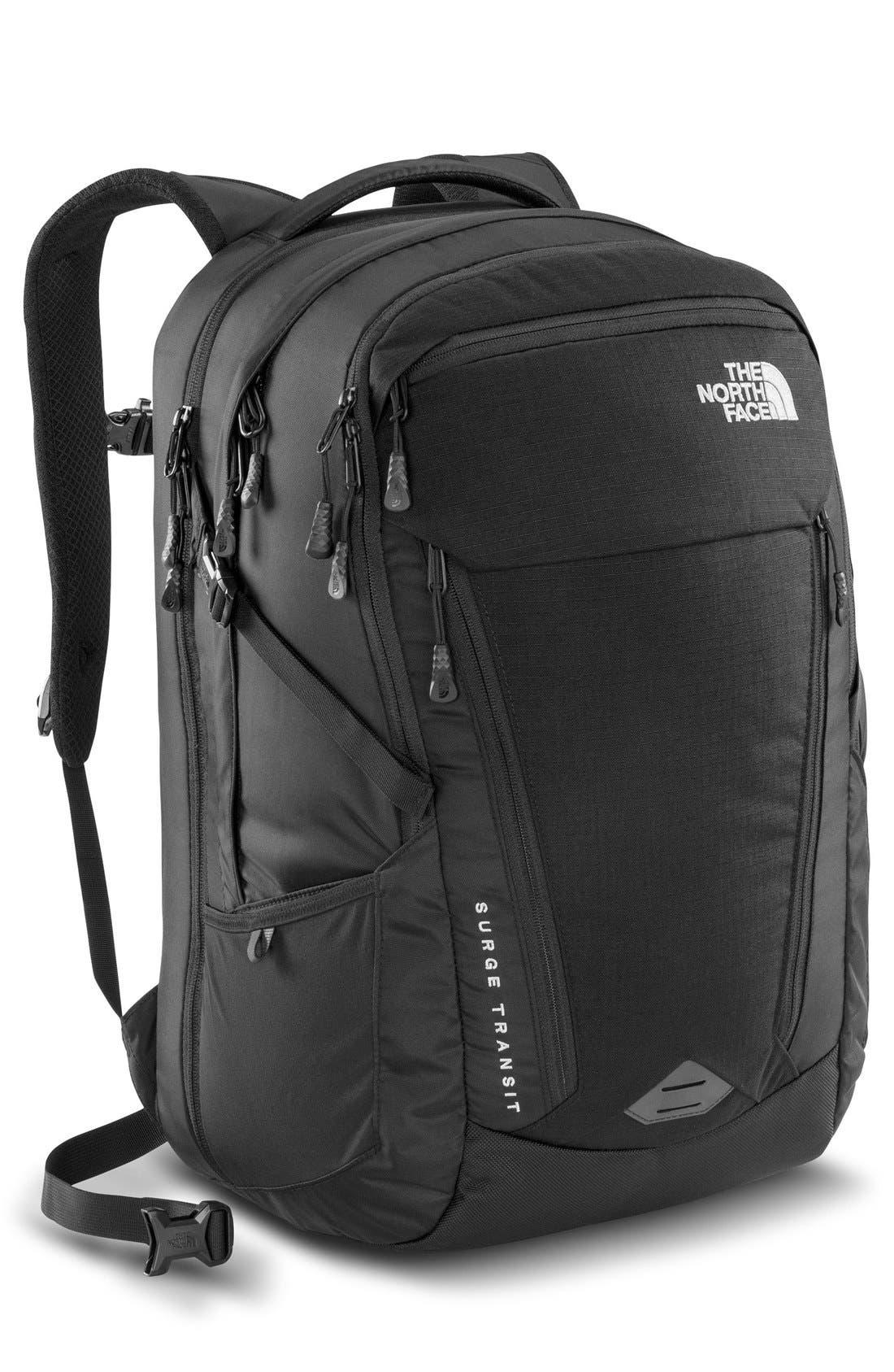 Surge Transit Backpack,                             Main thumbnail 1, color,                             004