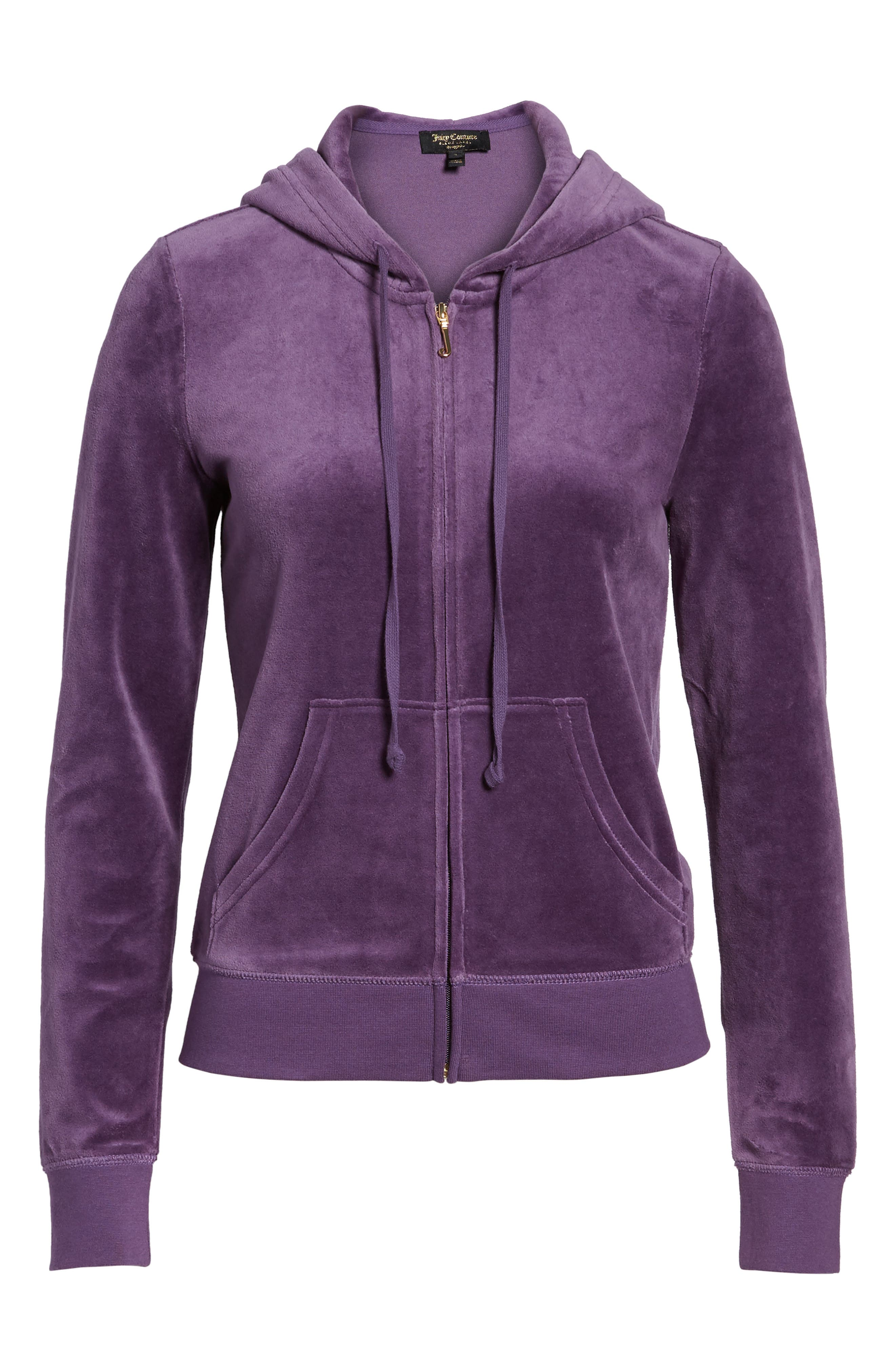 Robertson Velour Hoodie,                             Alternate thumbnail 7, color,                             511
