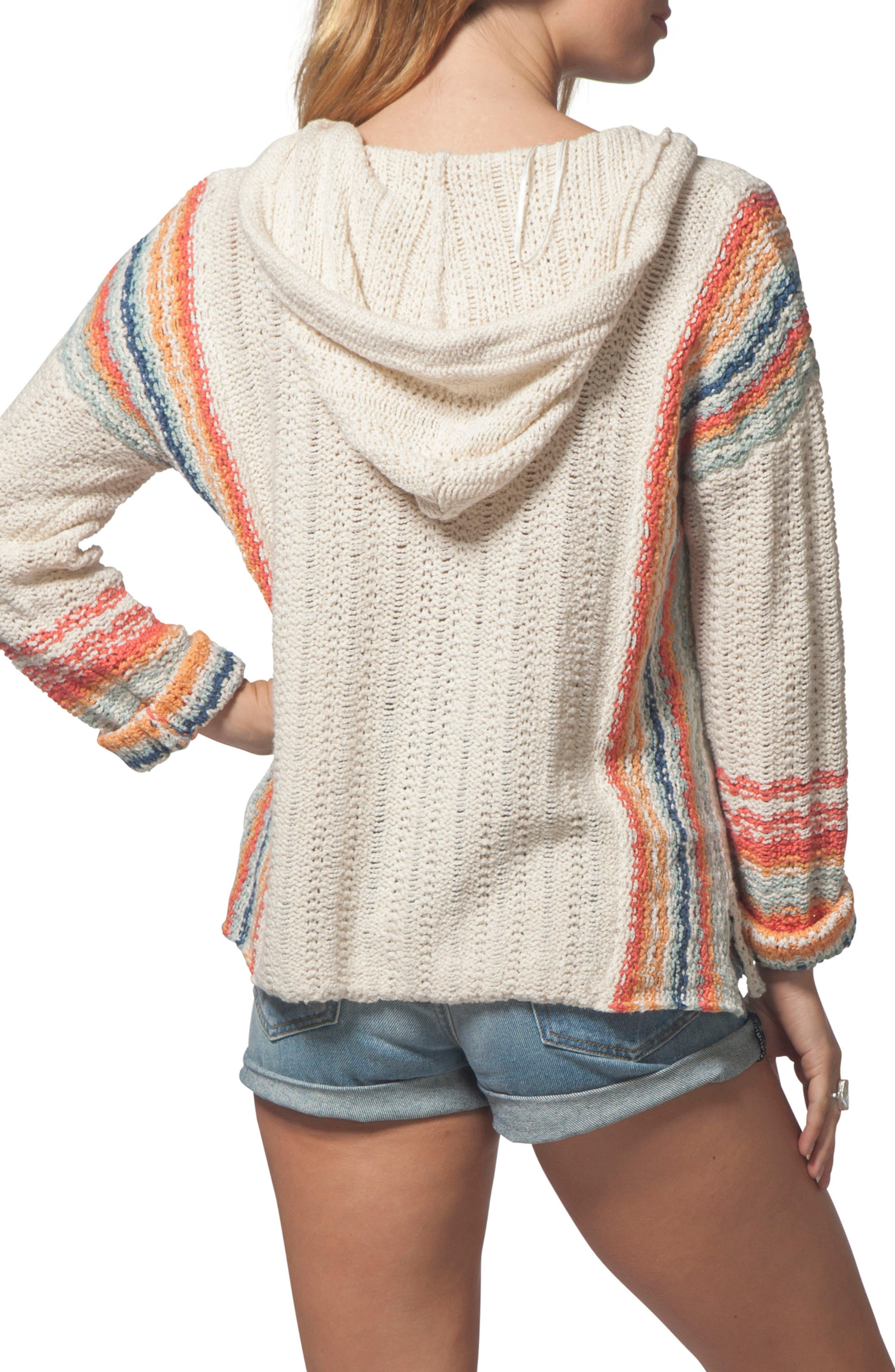 Sedona Hooded Knit Pullover,                             Alternate thumbnail 2, color,                             250