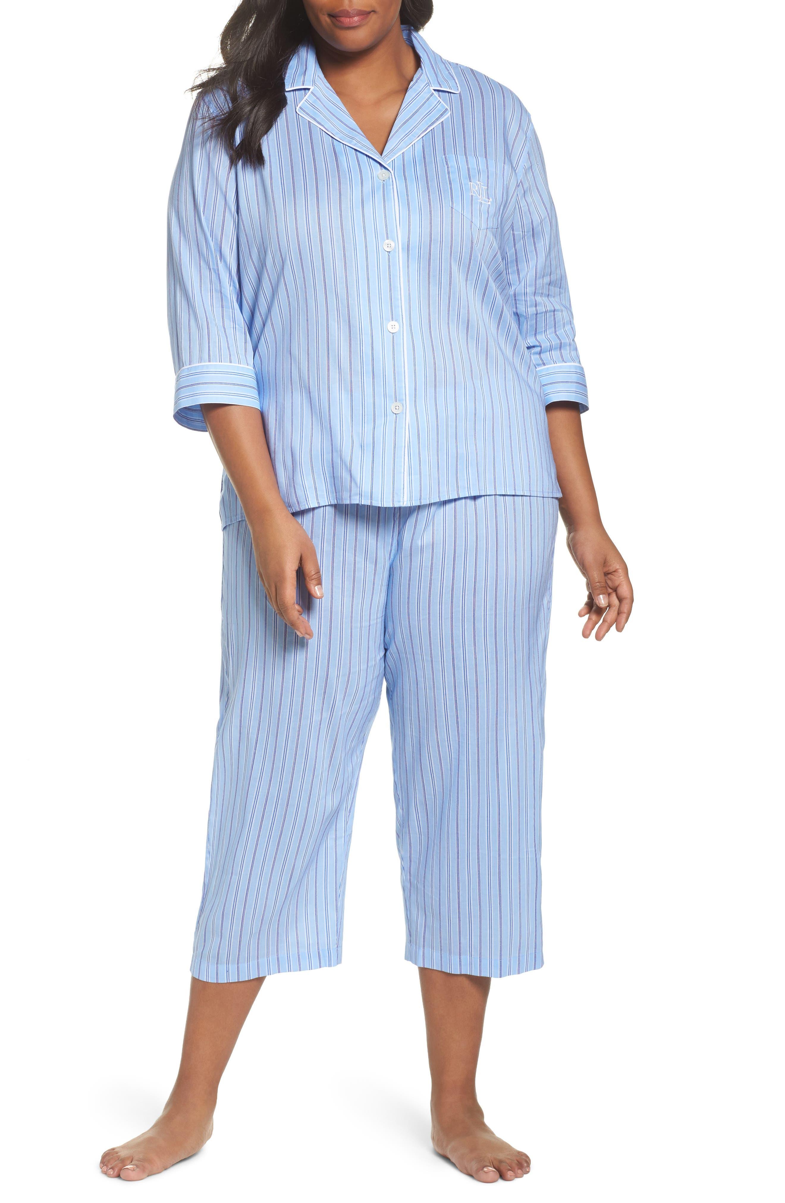 Capri Pajamas,                             Main thumbnail 1, color,                             486