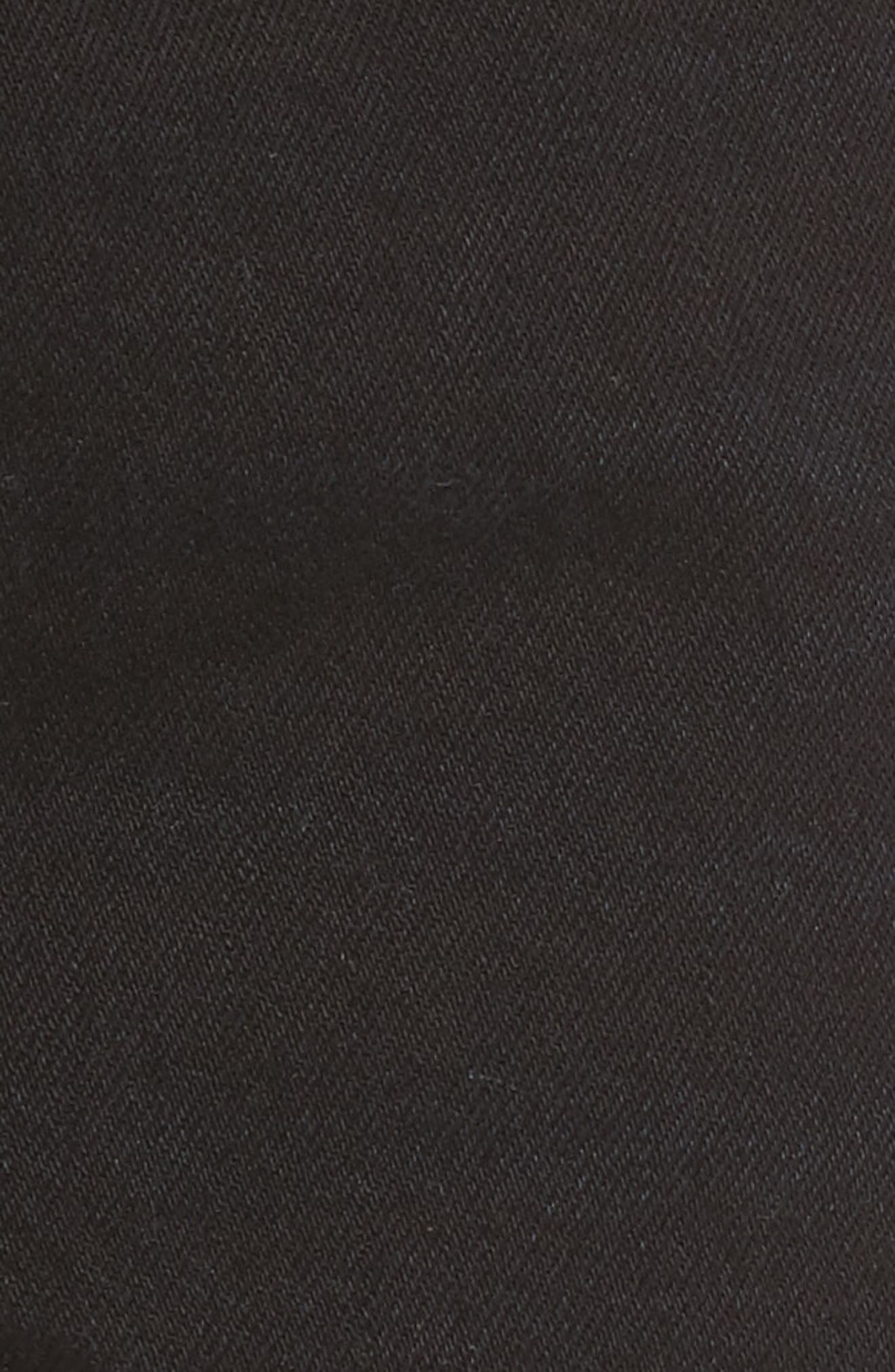 501<sup>®</sup> High Rise Denim Shorts,                             Alternate thumbnail 5, color,                             001