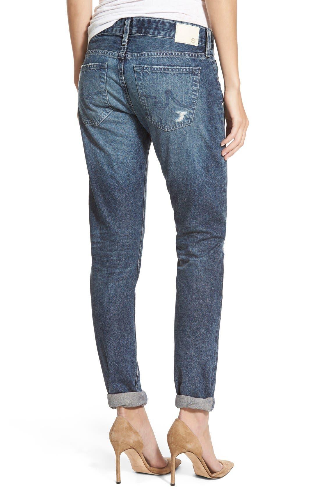 AG,                             'The Nikki' Relaxed Skinny Jeans,                             Alternate thumbnail 5, color,                             401