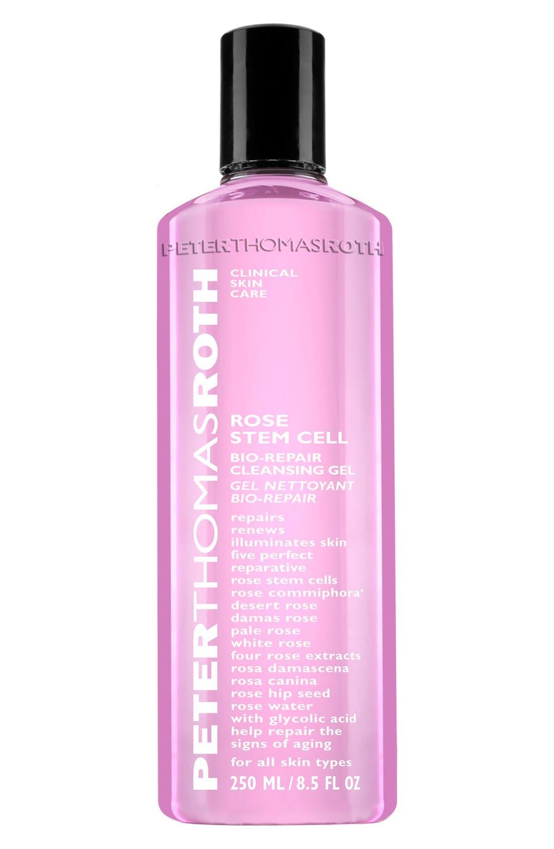 Rose Stem Cell Bio-Repair Cleansing Gel,                         Main,                         color, 000