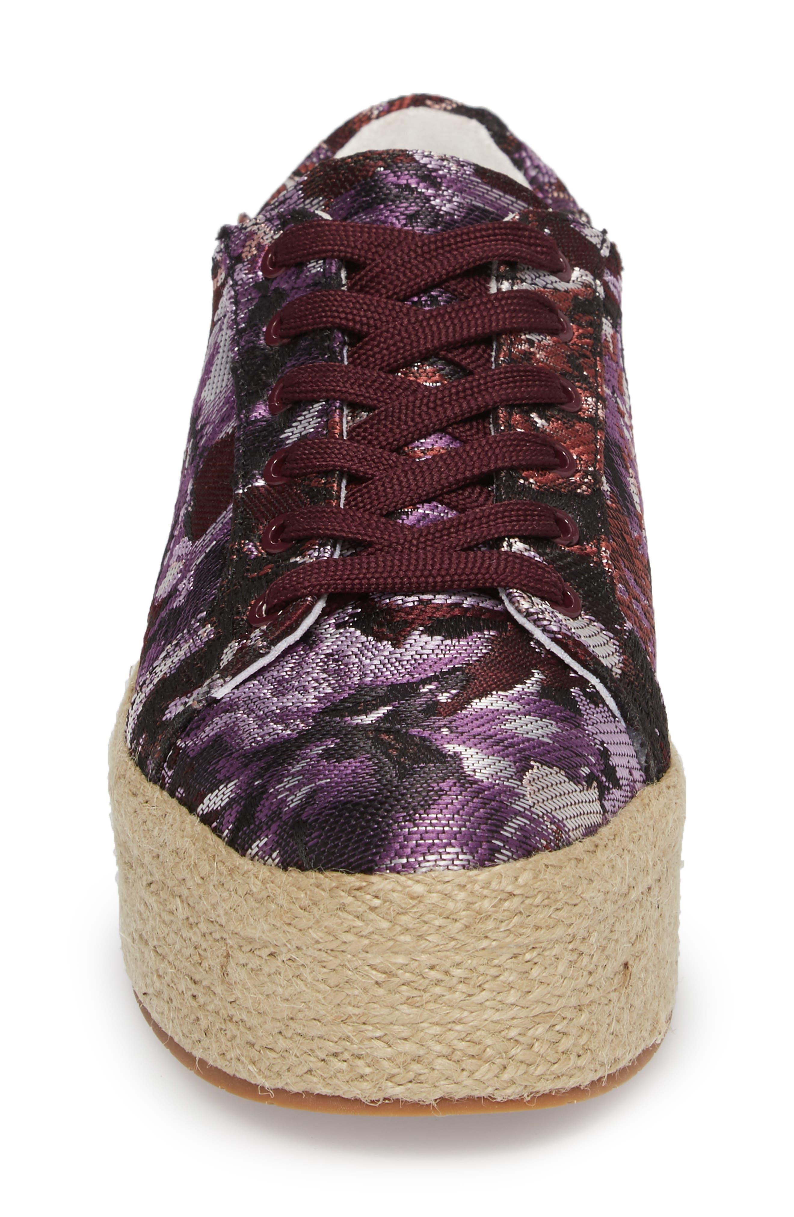 Allyson Espadrille Platform Sneaker,                             Alternate thumbnail 16, color,