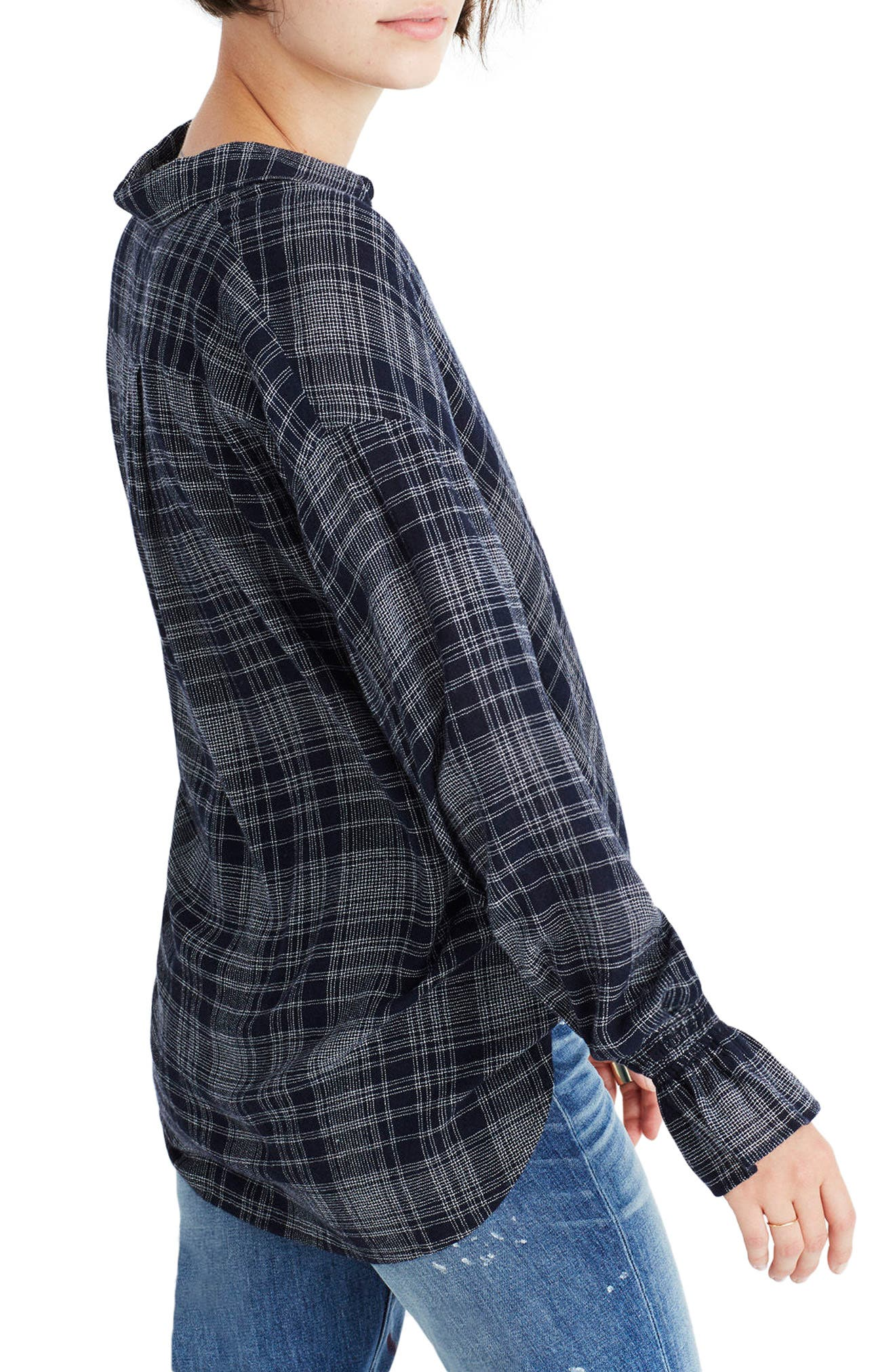 Westward Bell Sleeve Shirt,                             Alternate thumbnail 3, color,                             400