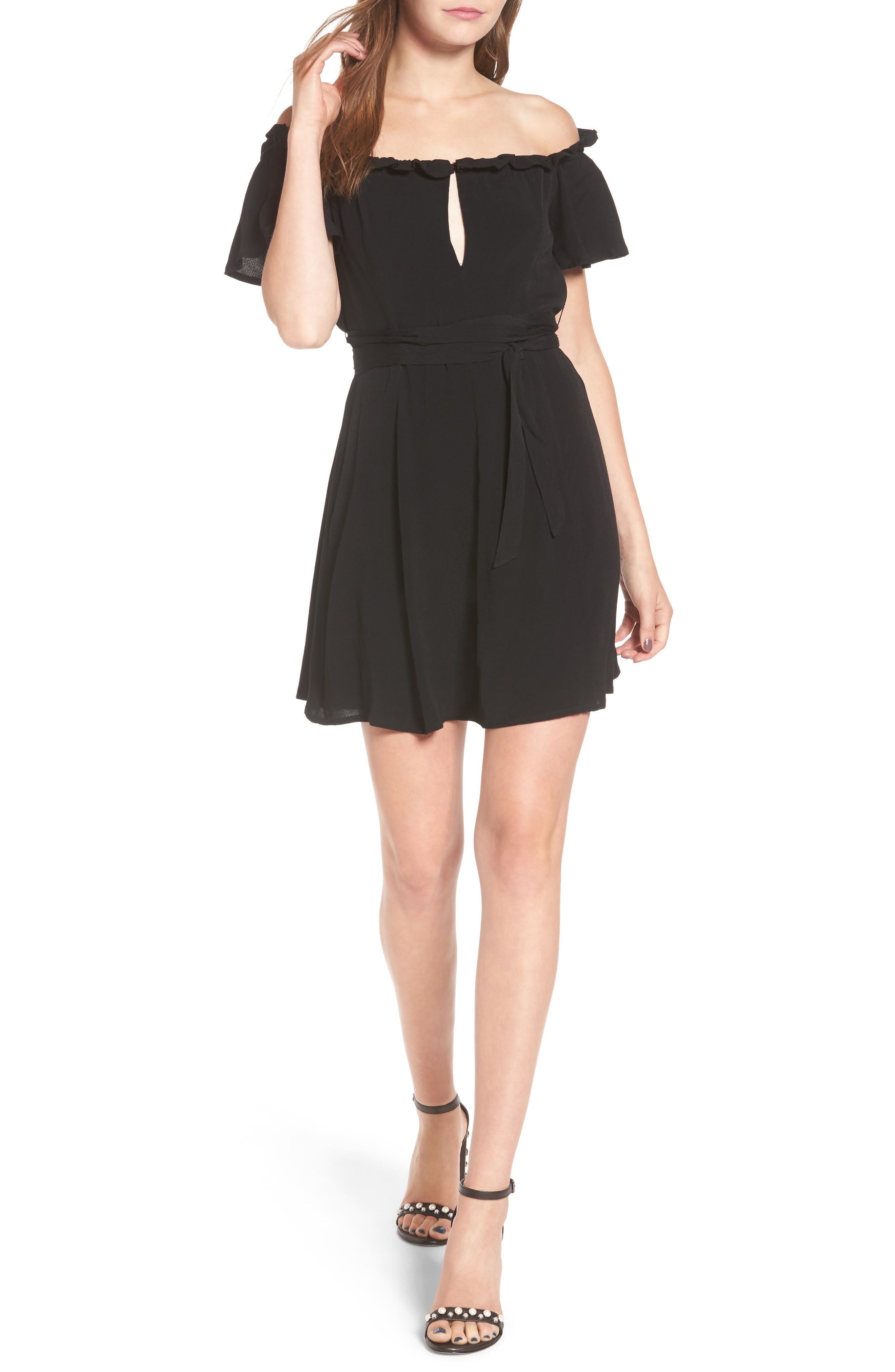 Deluth Off the Shoulder Dress,                         Main,                         color,