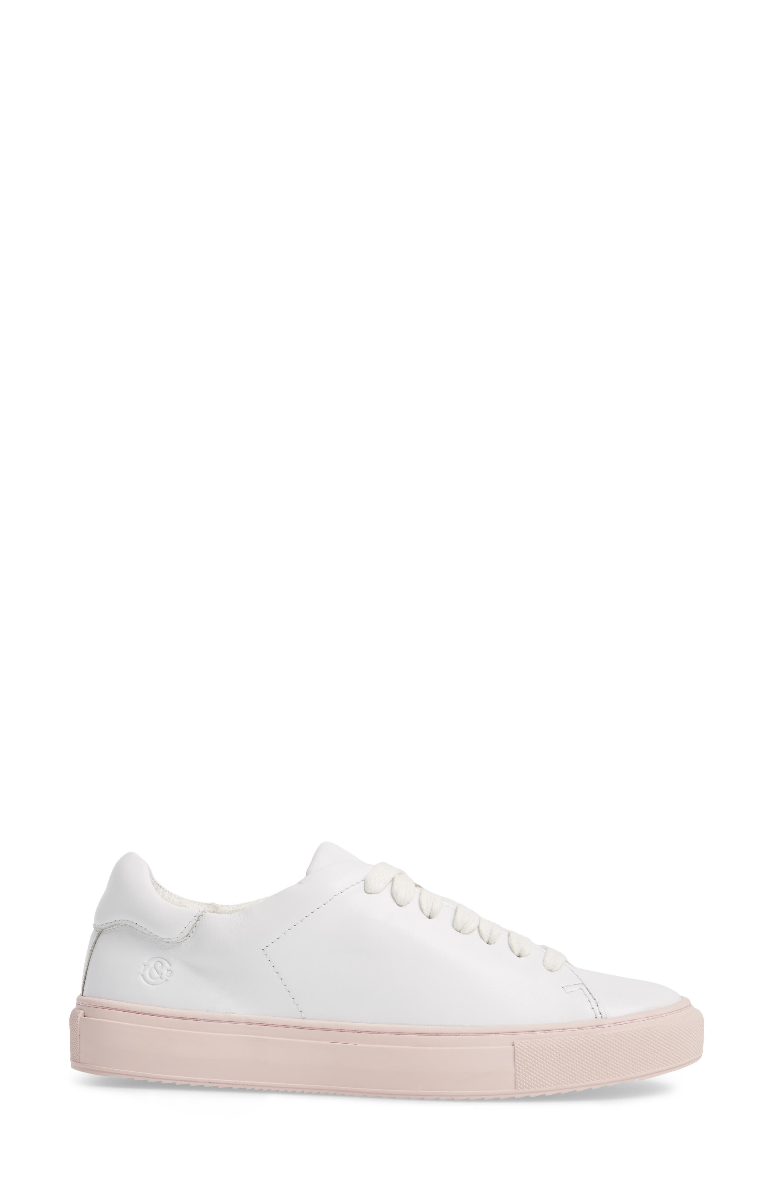 Cassidy Sneaker,                             Alternate thumbnail 3, color,                             100