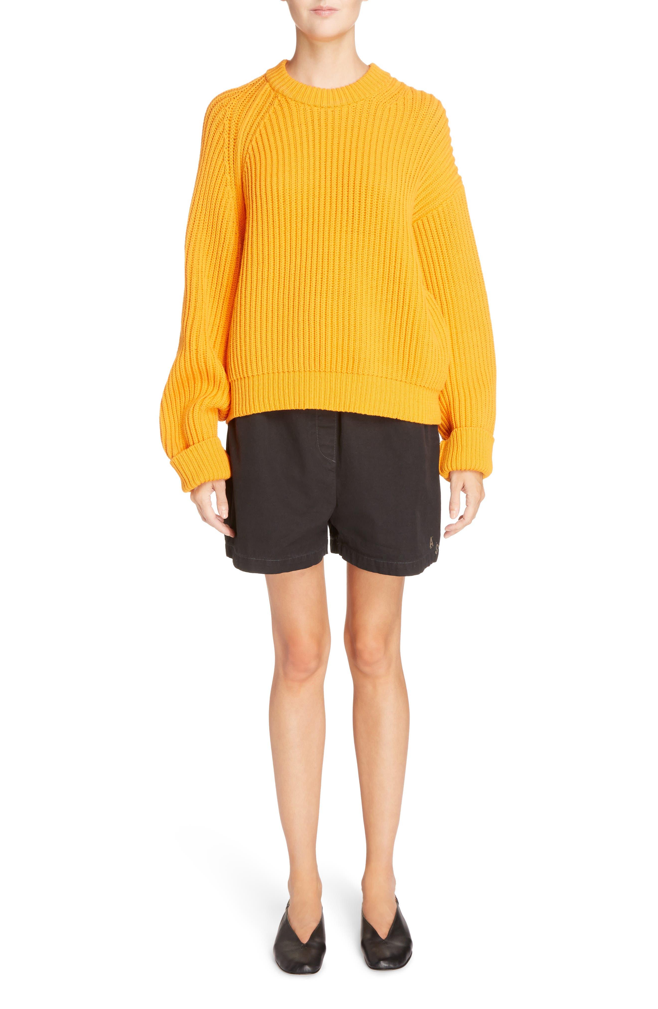 Marit Chino Shorts,                             Alternate thumbnail 6, color,                             001