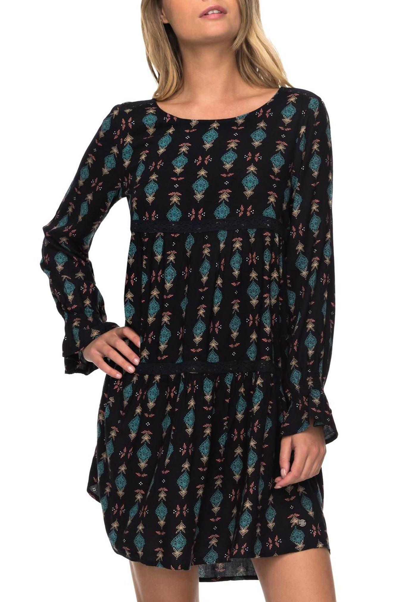 Sweetness Seas Tiered Dress,                         Main,                         color,