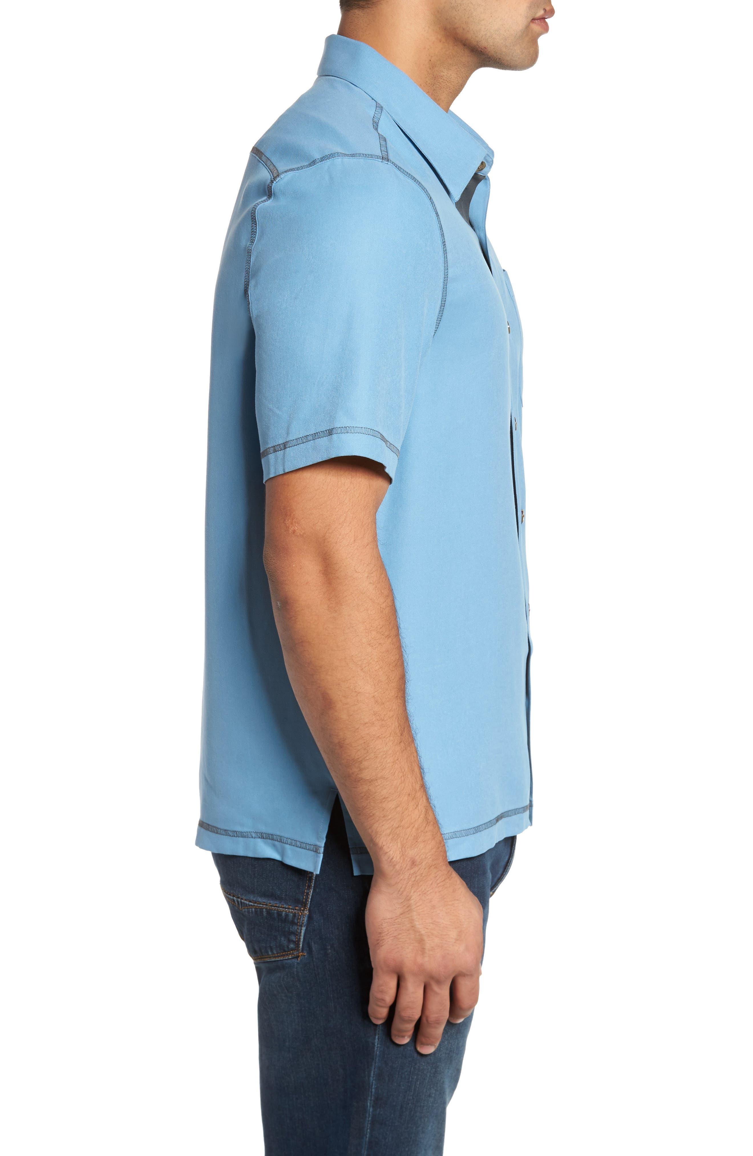 New Originals Silk Sport Shirt,                             Alternate thumbnail 9, color,