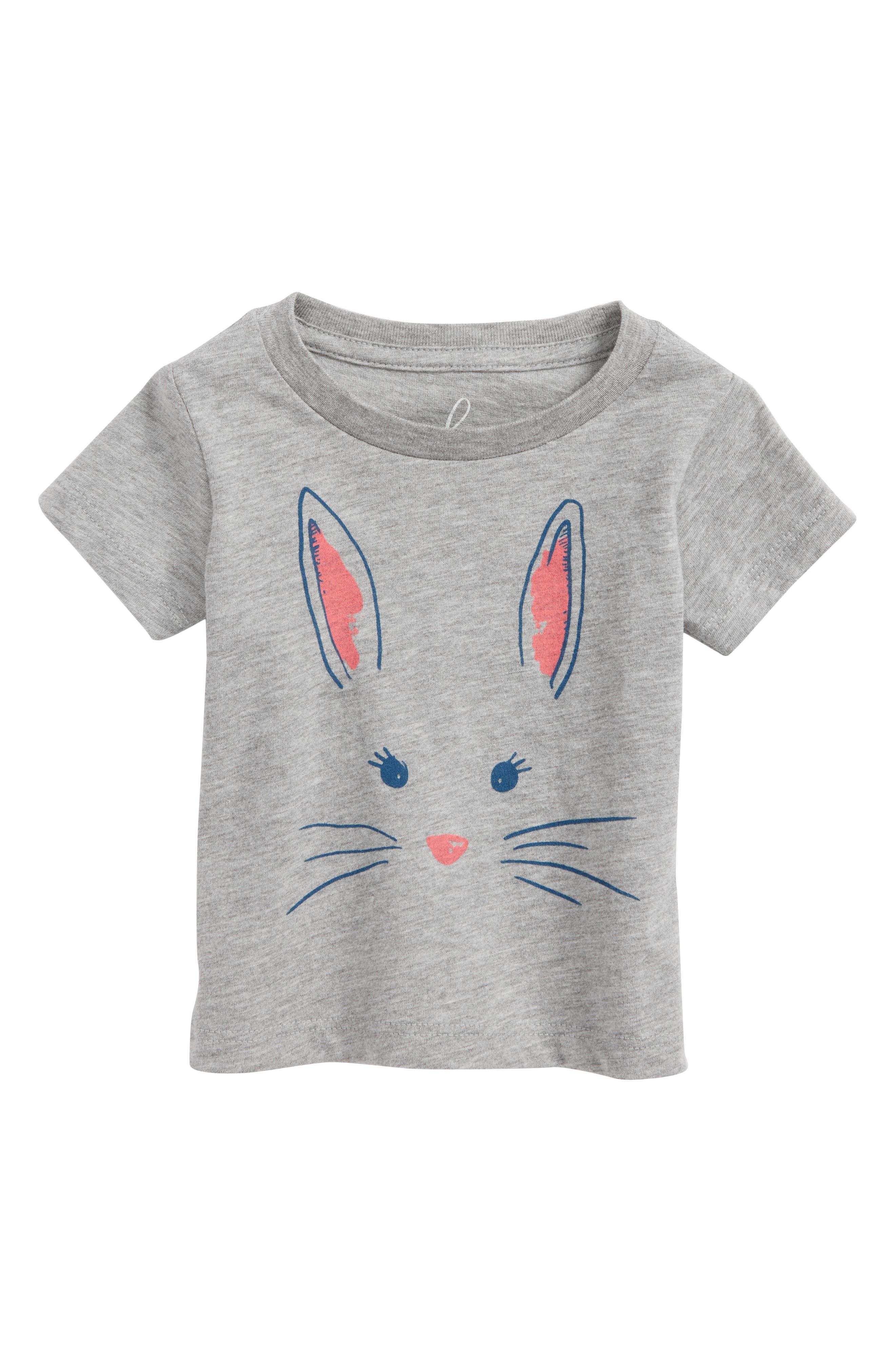 Peek Bunny Tee,                         Main,                         color, 031