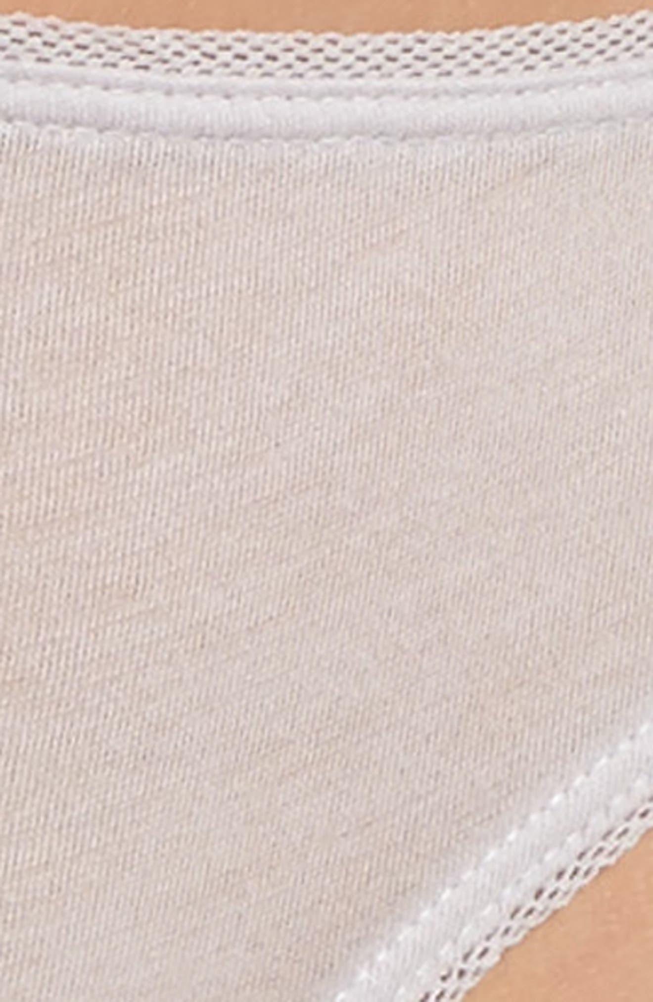 Organic Pima Cotton Bikini,                             Alternate thumbnail 4, color,                             532
