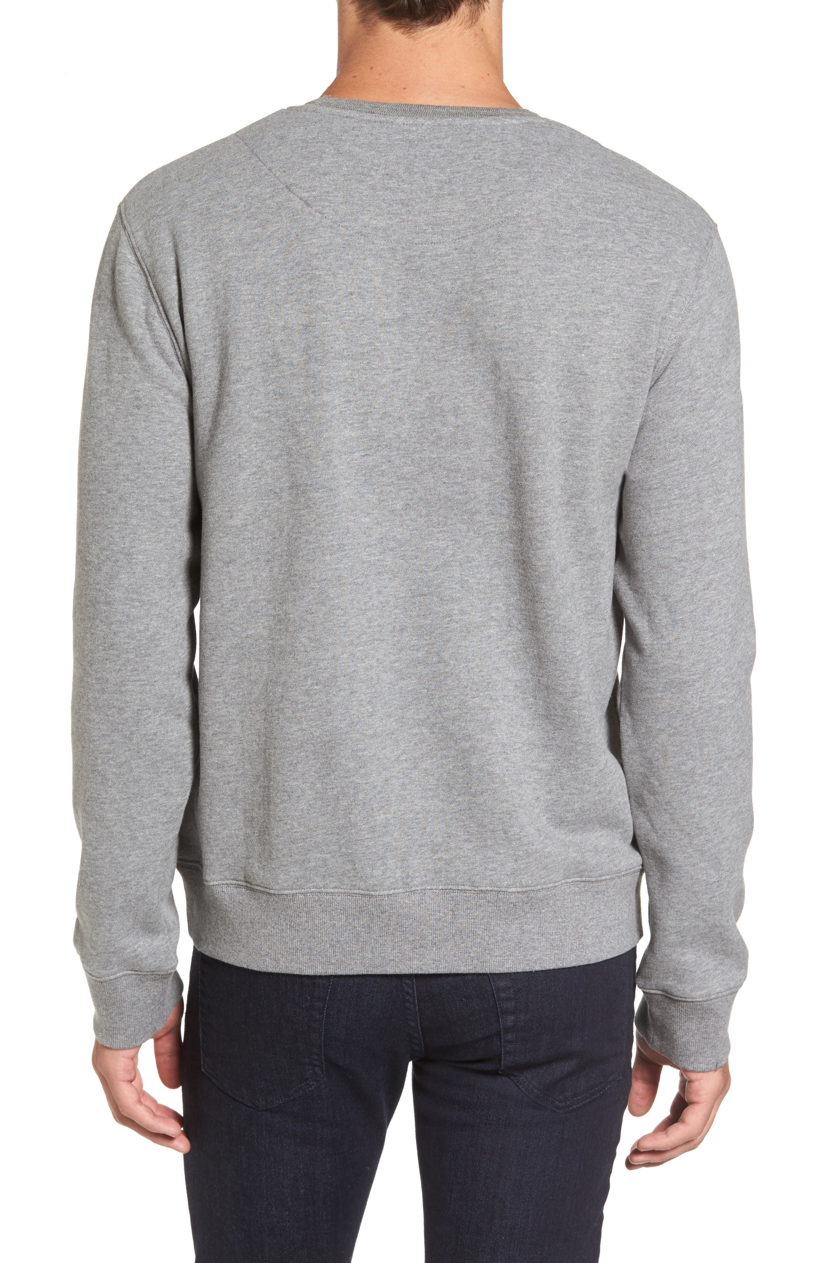 Auckland Logo Embroidered Sweatshirt,                             Alternate thumbnail 5, color,