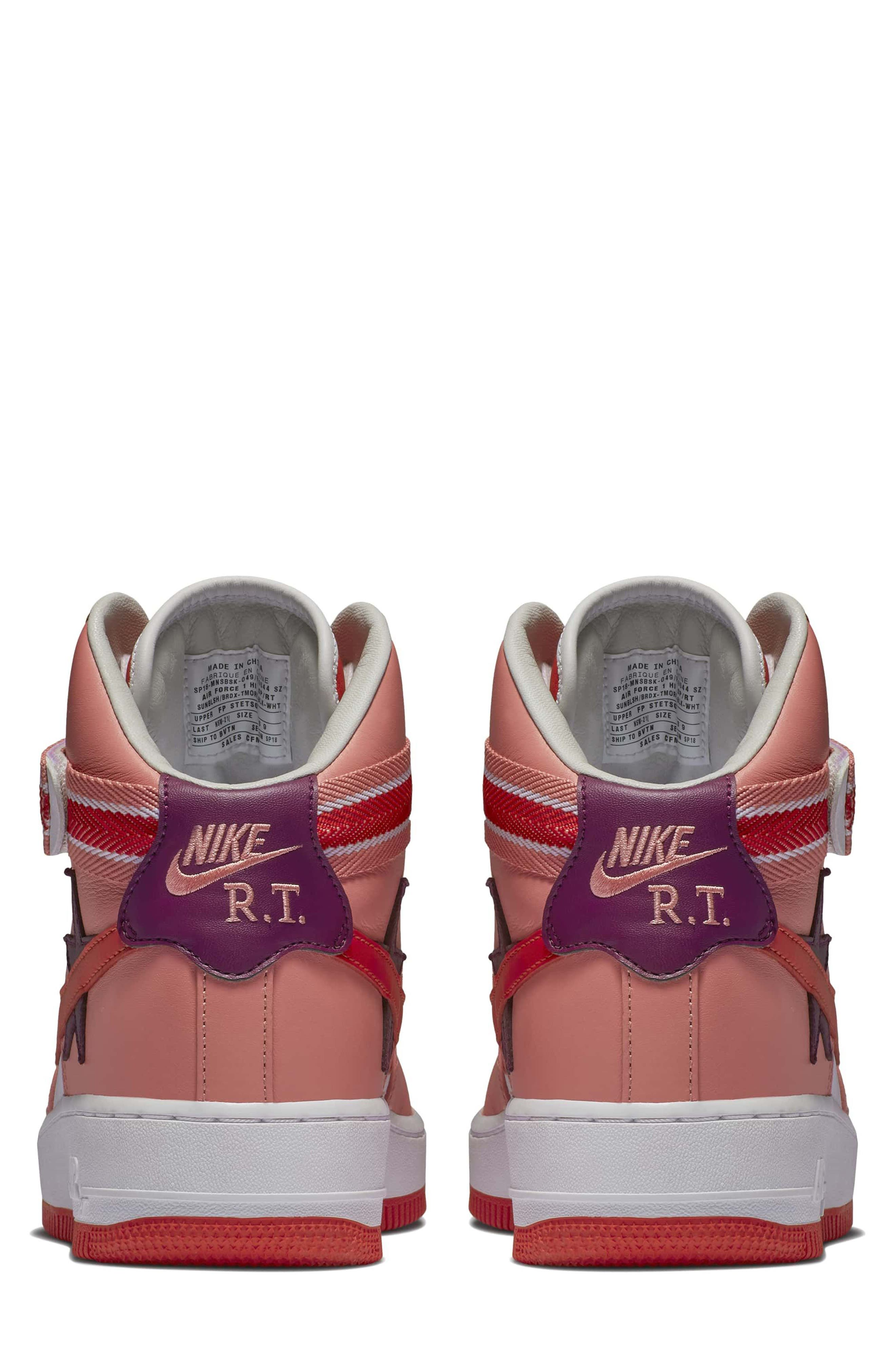 Air Force 1 High RT Sneaker,                             Alternate thumbnail 4, color,