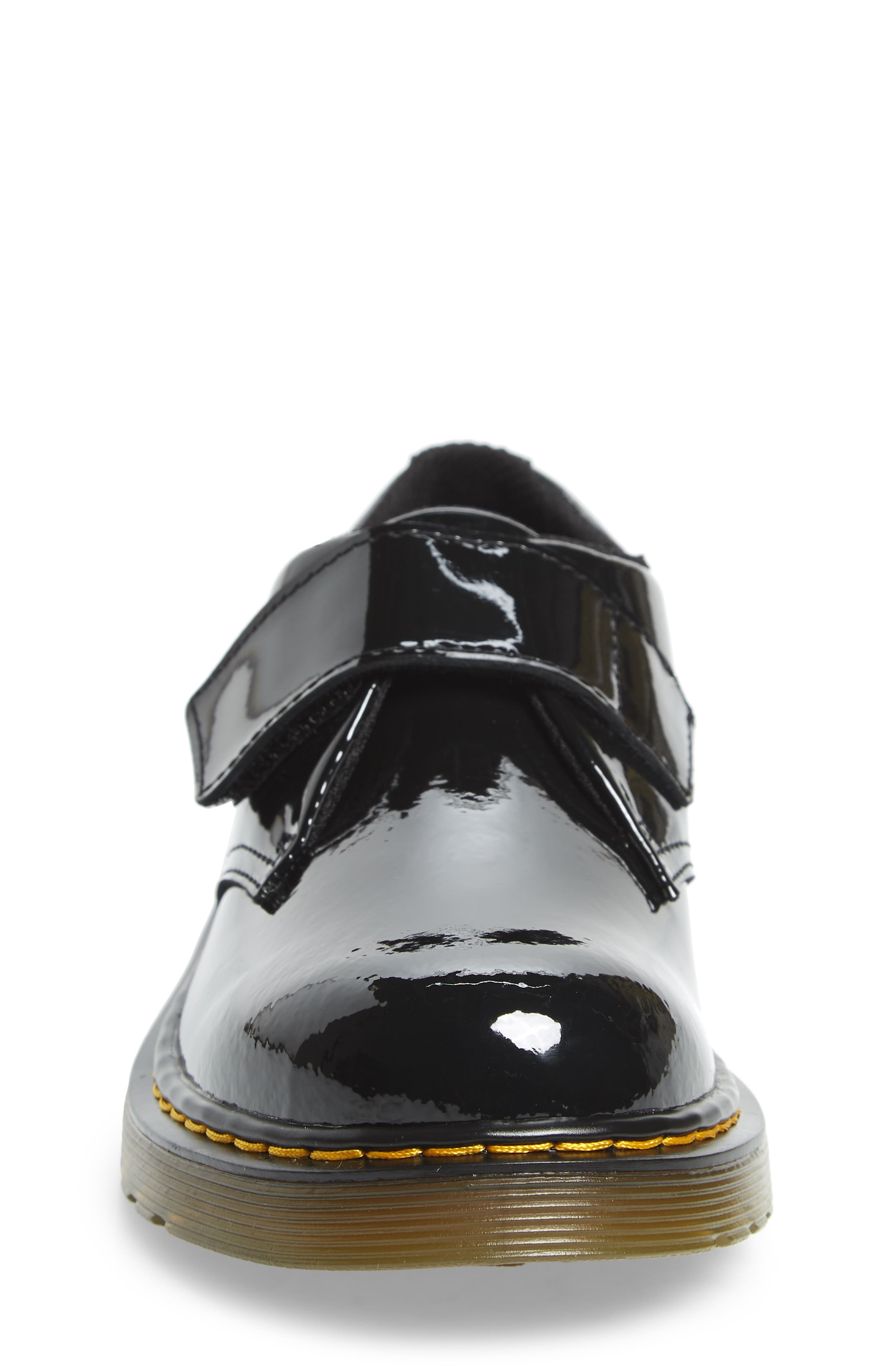Loafer,                             Alternate thumbnail 4, color,                             BLACK PATENT