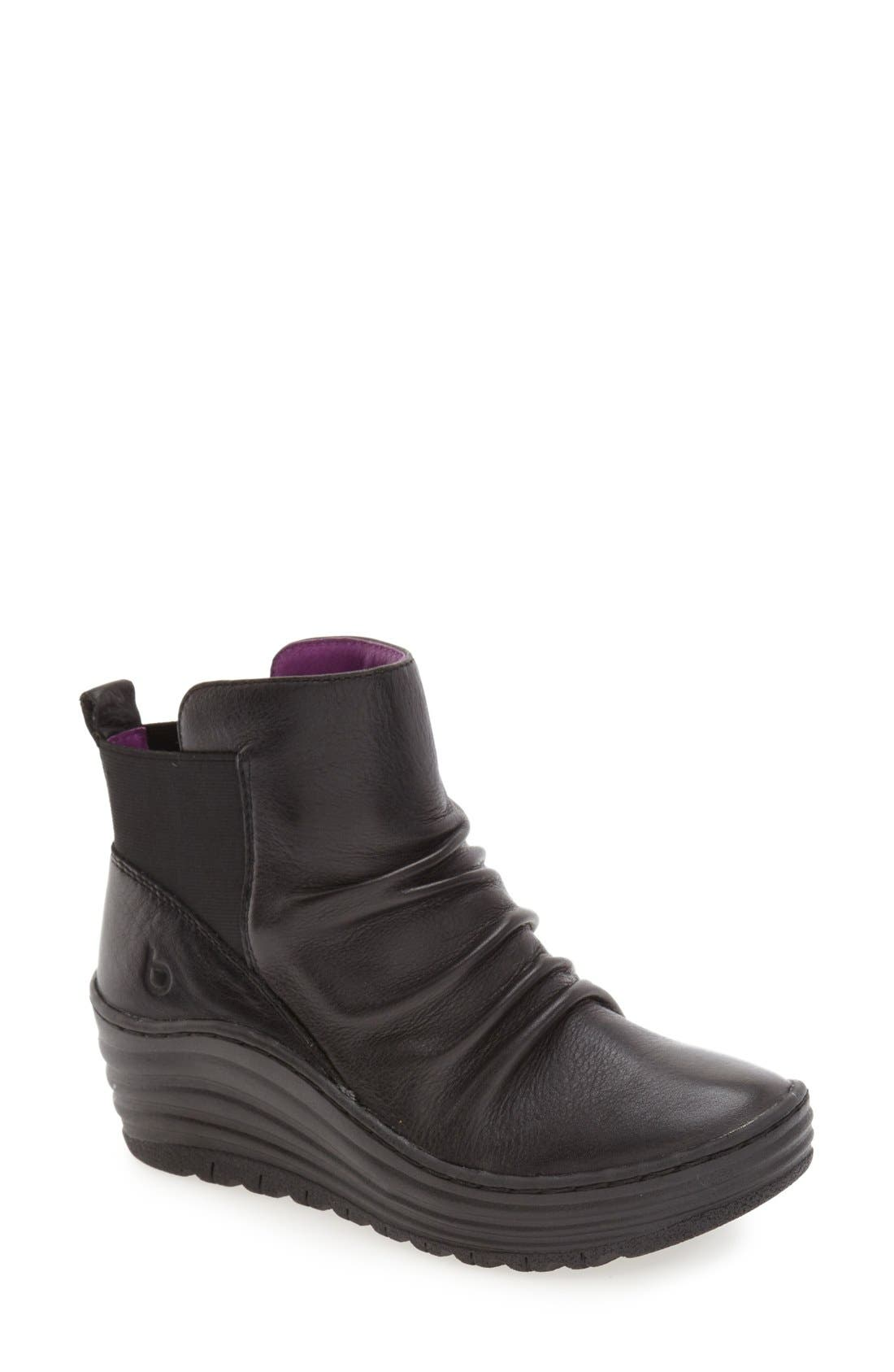 'Gilford' Wedge Bootie,                             Main thumbnail 1, color,                             001