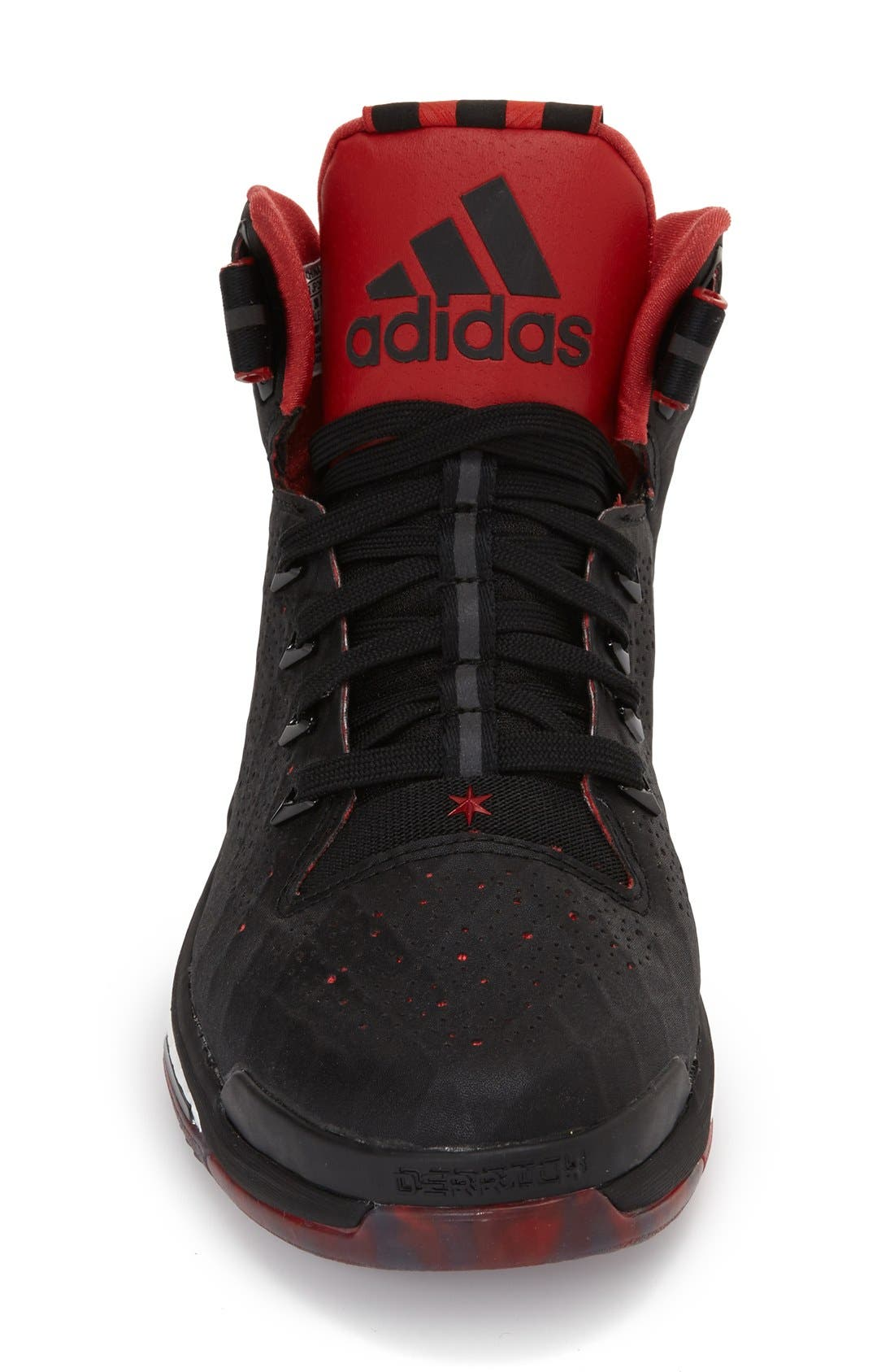 ADIDAS,                             'D Rose 6 - Boost<sup>™</sup>' Basketball Shoe,                             Alternate thumbnail 2, color,                             001