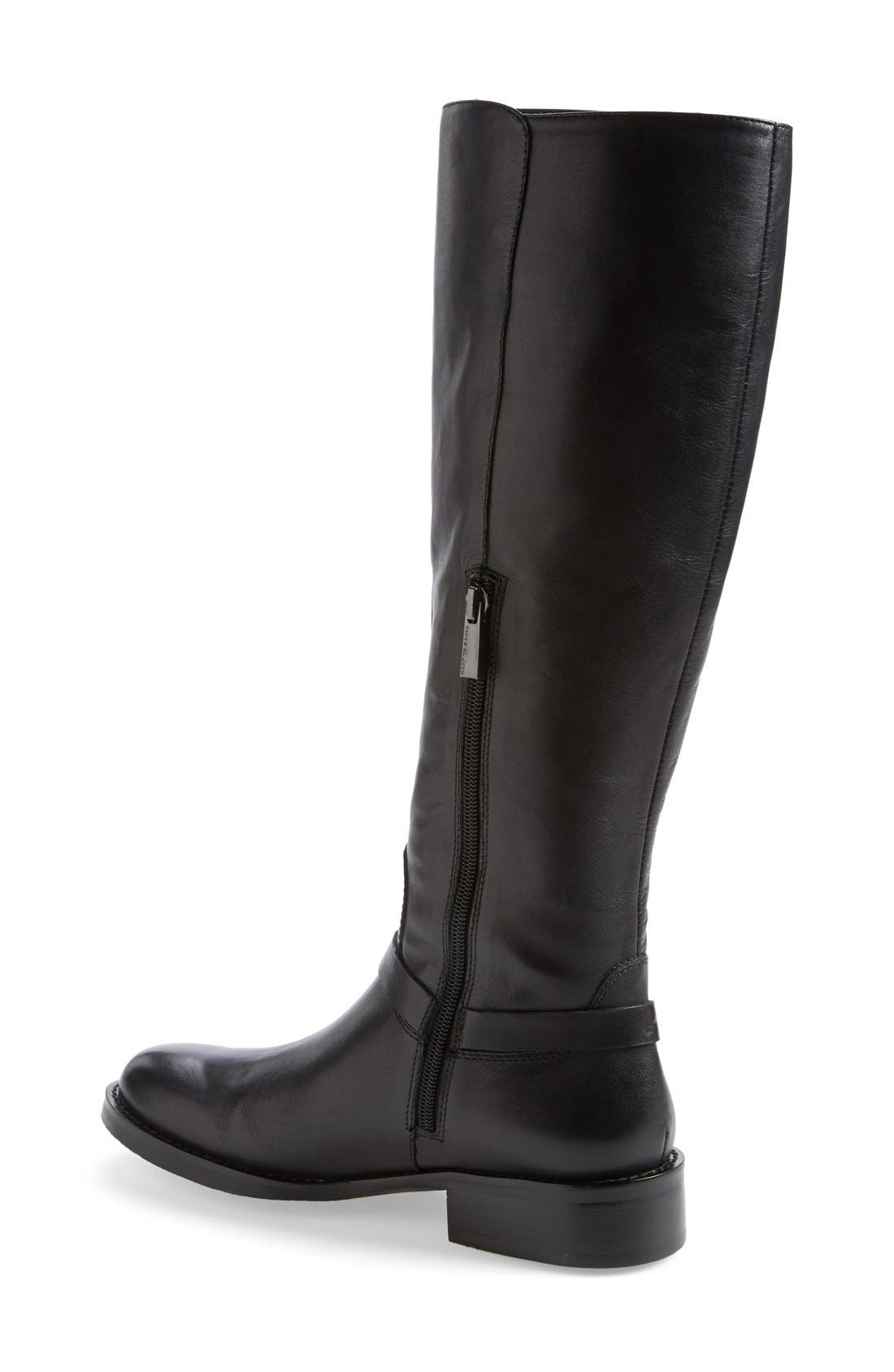 VINCE CAMUTO,                             'Farren' Riding Boot,                             Alternate thumbnail 2, color,                             001