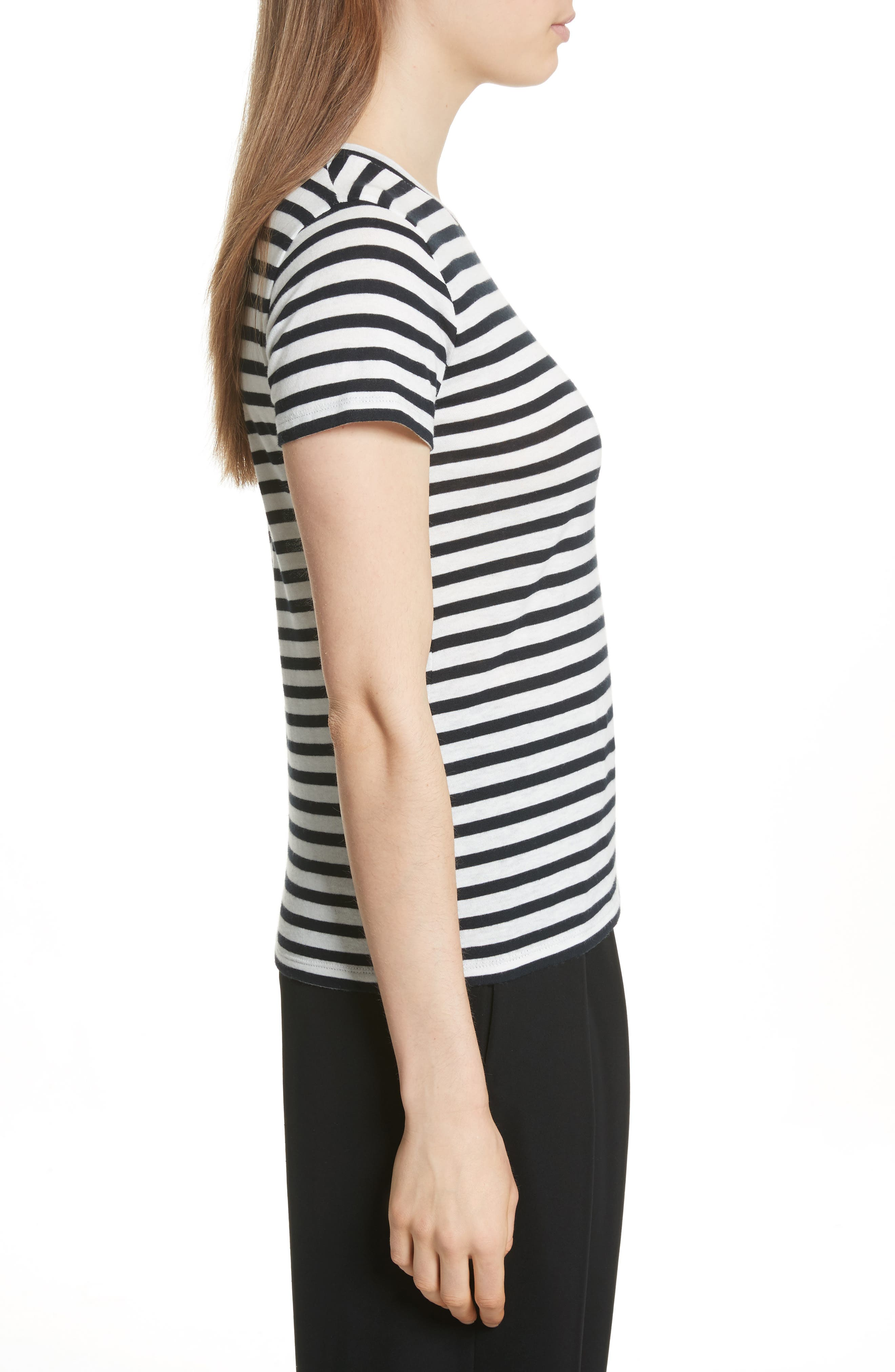 Bengal Stripe Tee,                             Alternate thumbnail 3, color,                             471