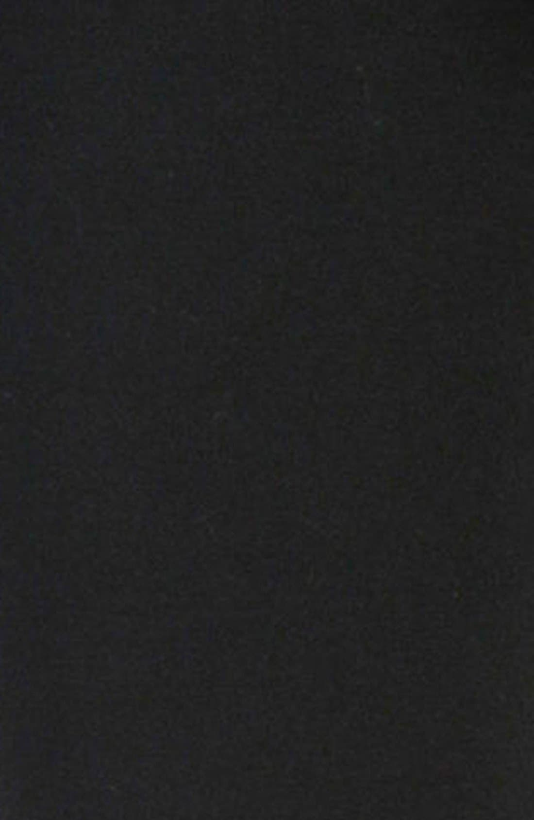 'Verdugo' Ponte Ankle Pants,                             Alternate thumbnail 5, color,                             BLACK