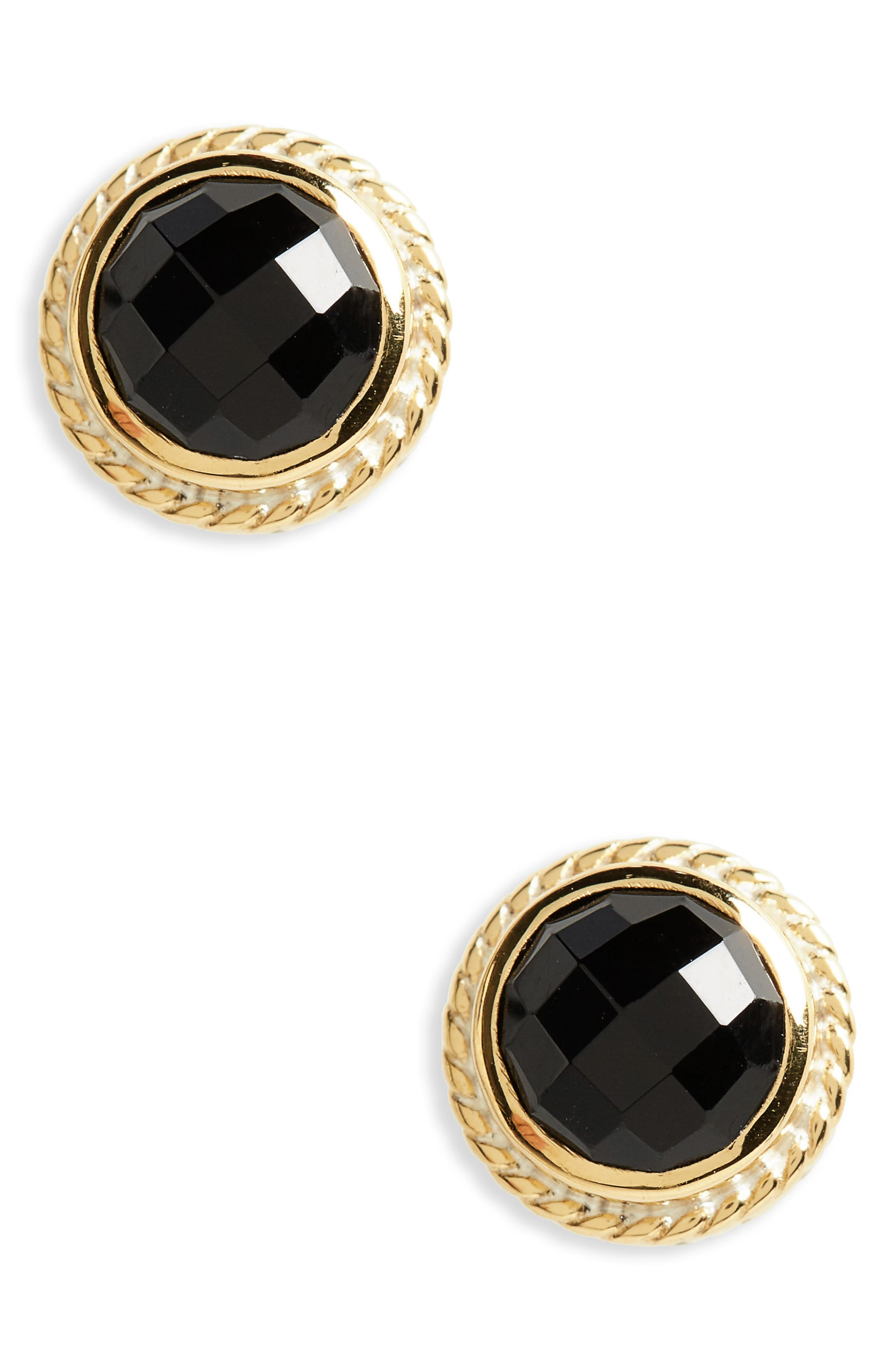 Stone Stud Earrings,                         Main,                         color,