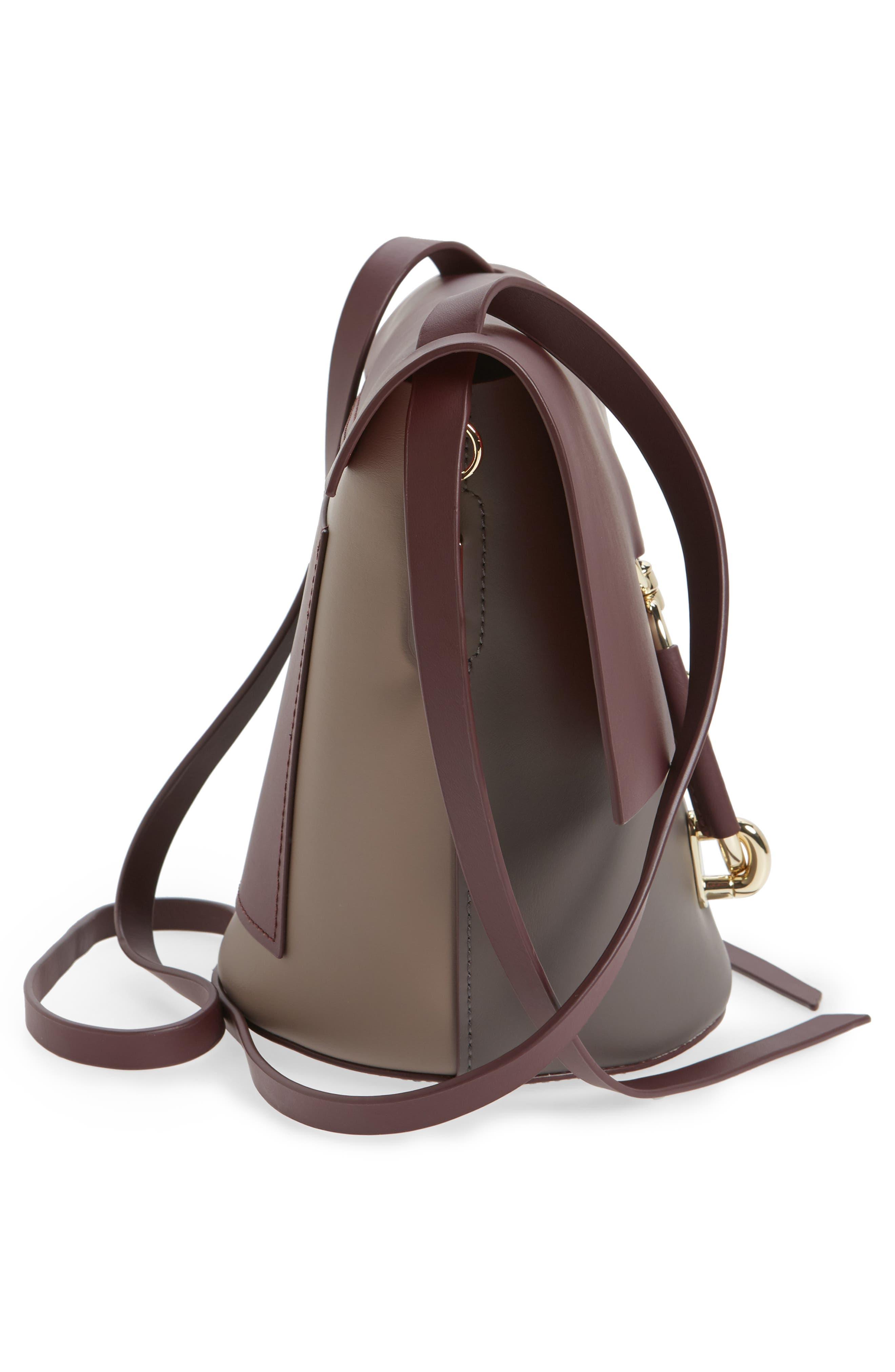 Belay Colorblock Leather Crossbody Bag,                             Alternate thumbnail 10, color,