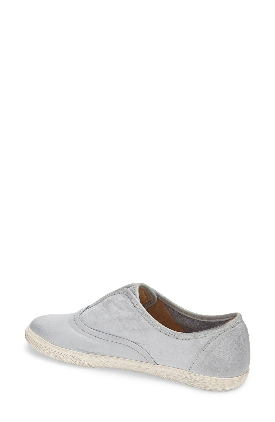 'Mindy' Slip-On Leather Sneaker,                             Alternate thumbnail 19, color,