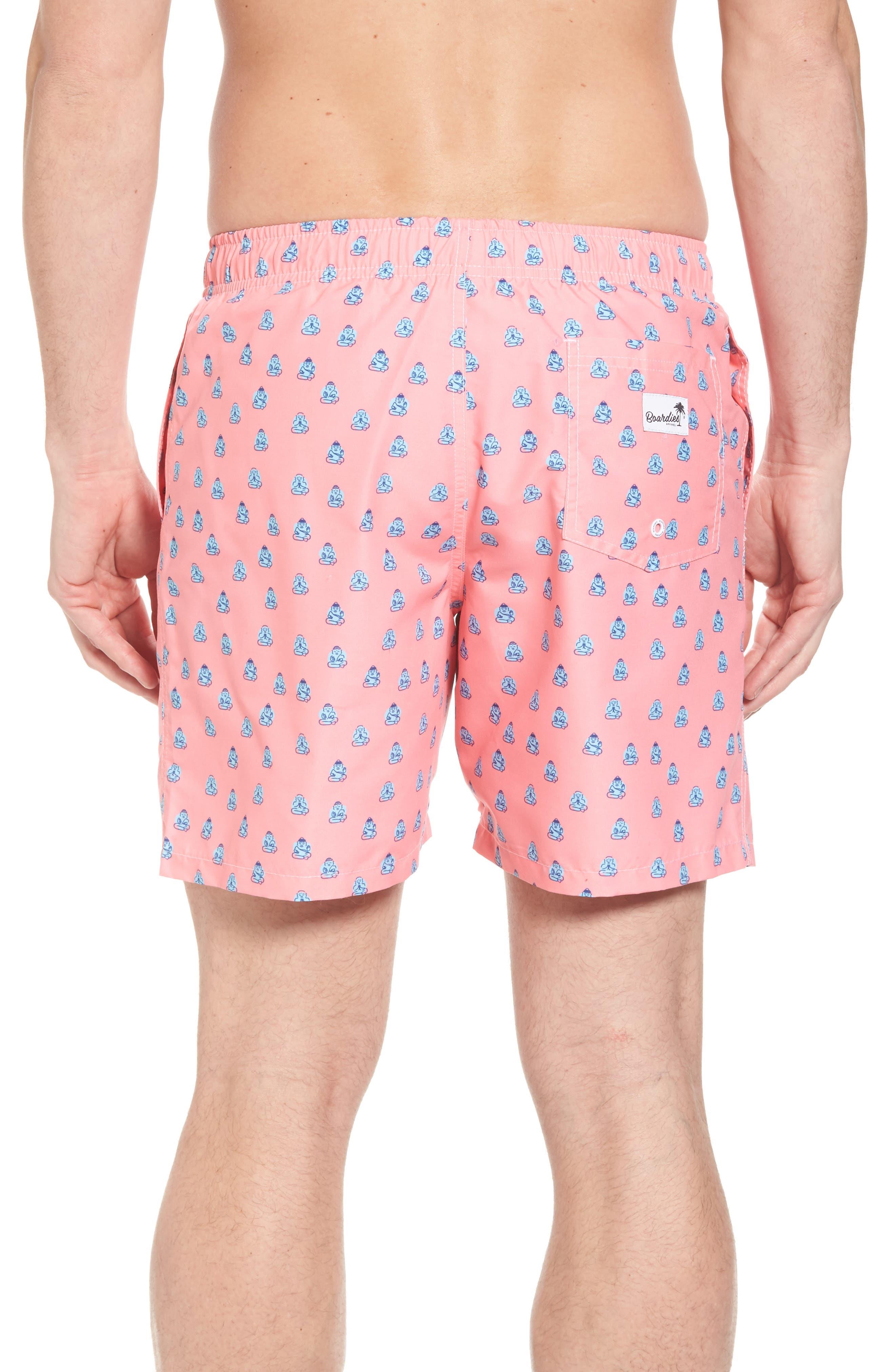 Polka Zen Swim Shorts,                             Alternate thumbnail 2, color,