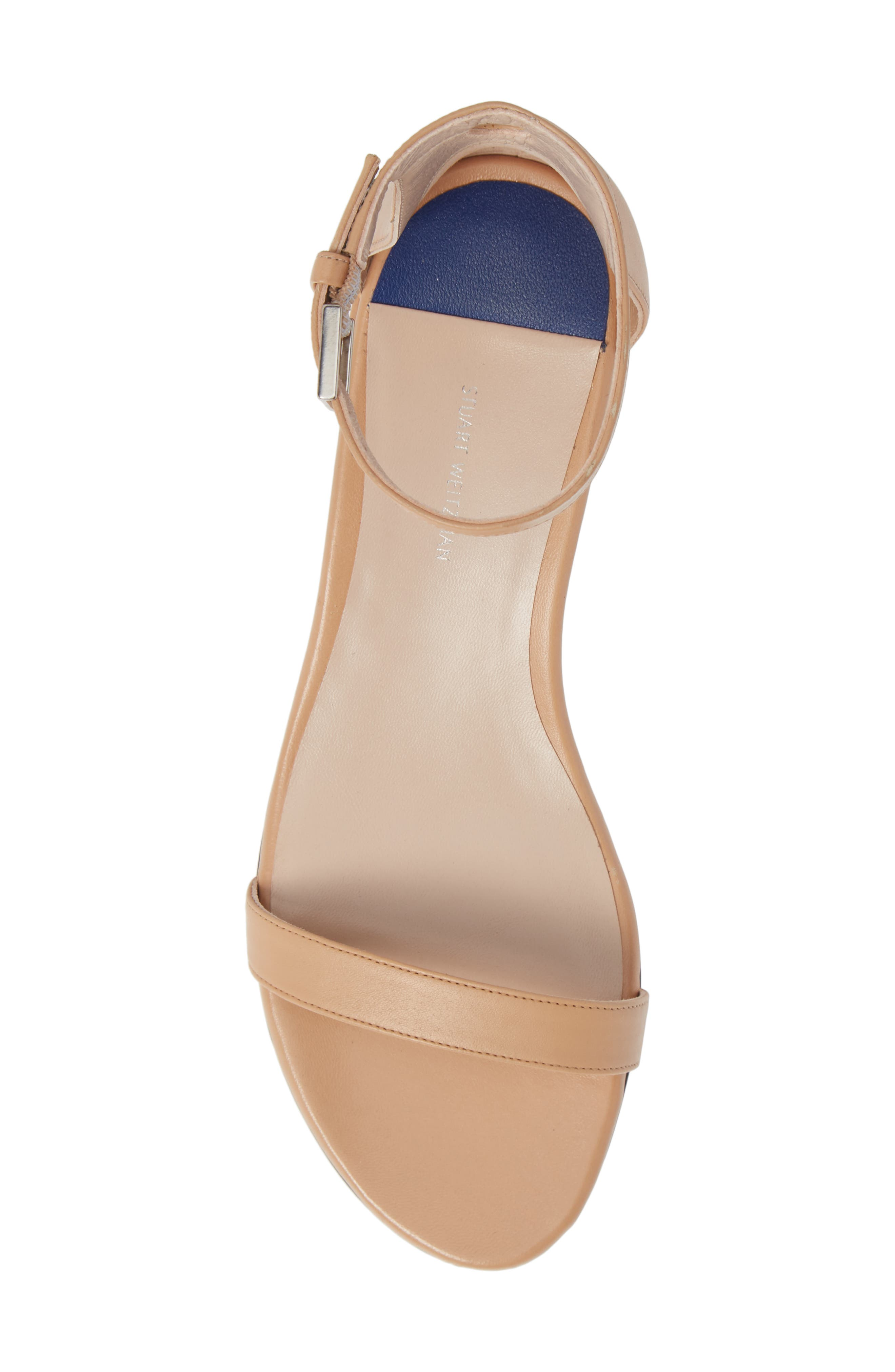 STUART WEITZMAN,                             Nudist Sandal,                             Alternate thumbnail 5, color,                             273