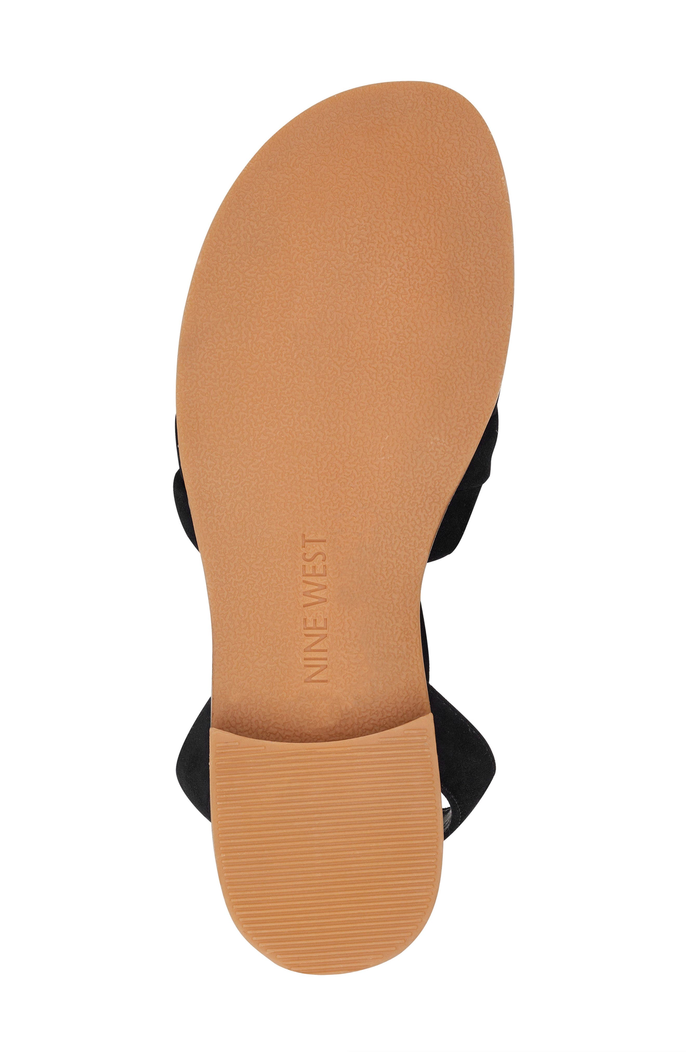Xameera Knotted Sandal,                             Alternate thumbnail 6, color,                             002